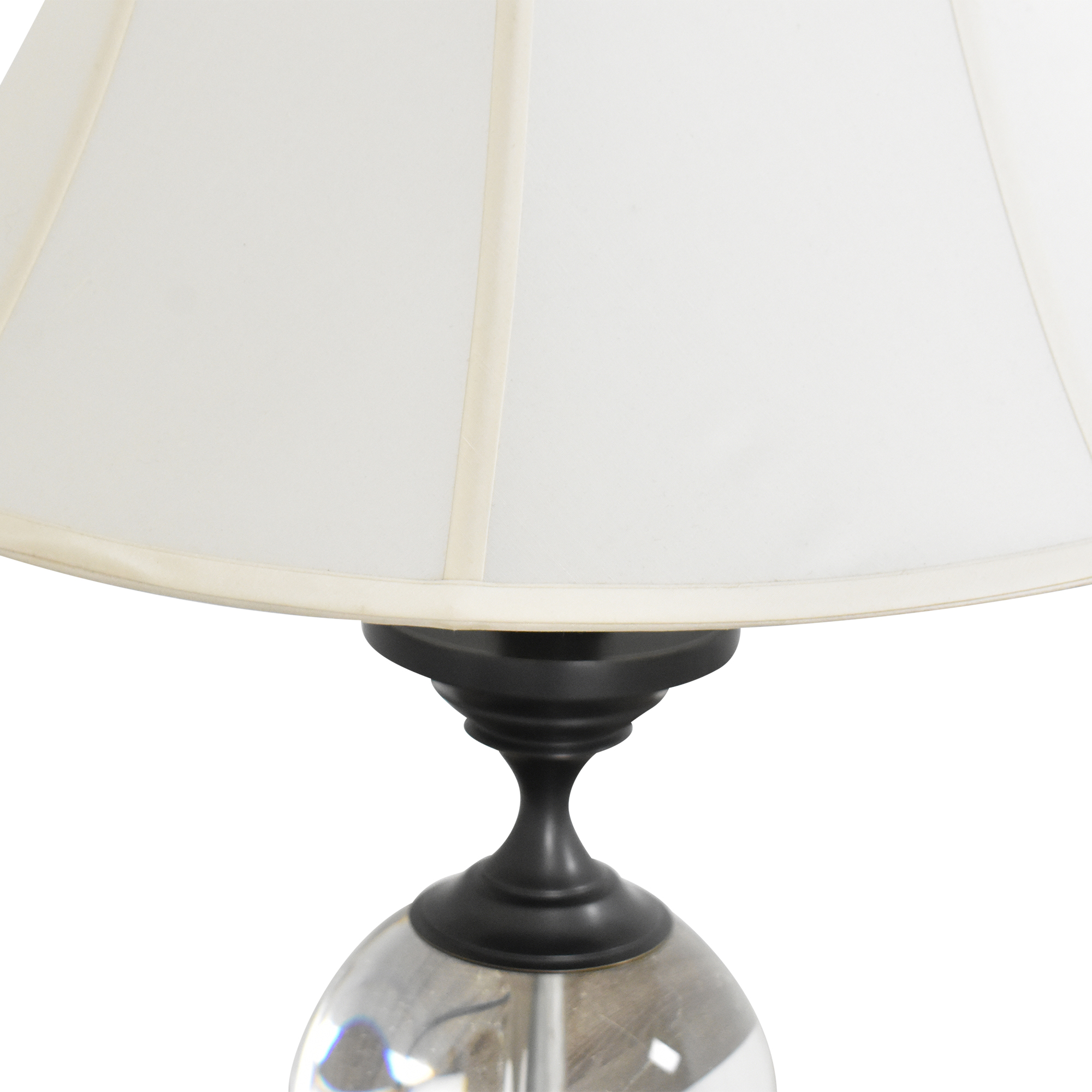 Restoration Hardware Restoration Hardware Crystal Ball Small Urn Table Lamp on sale