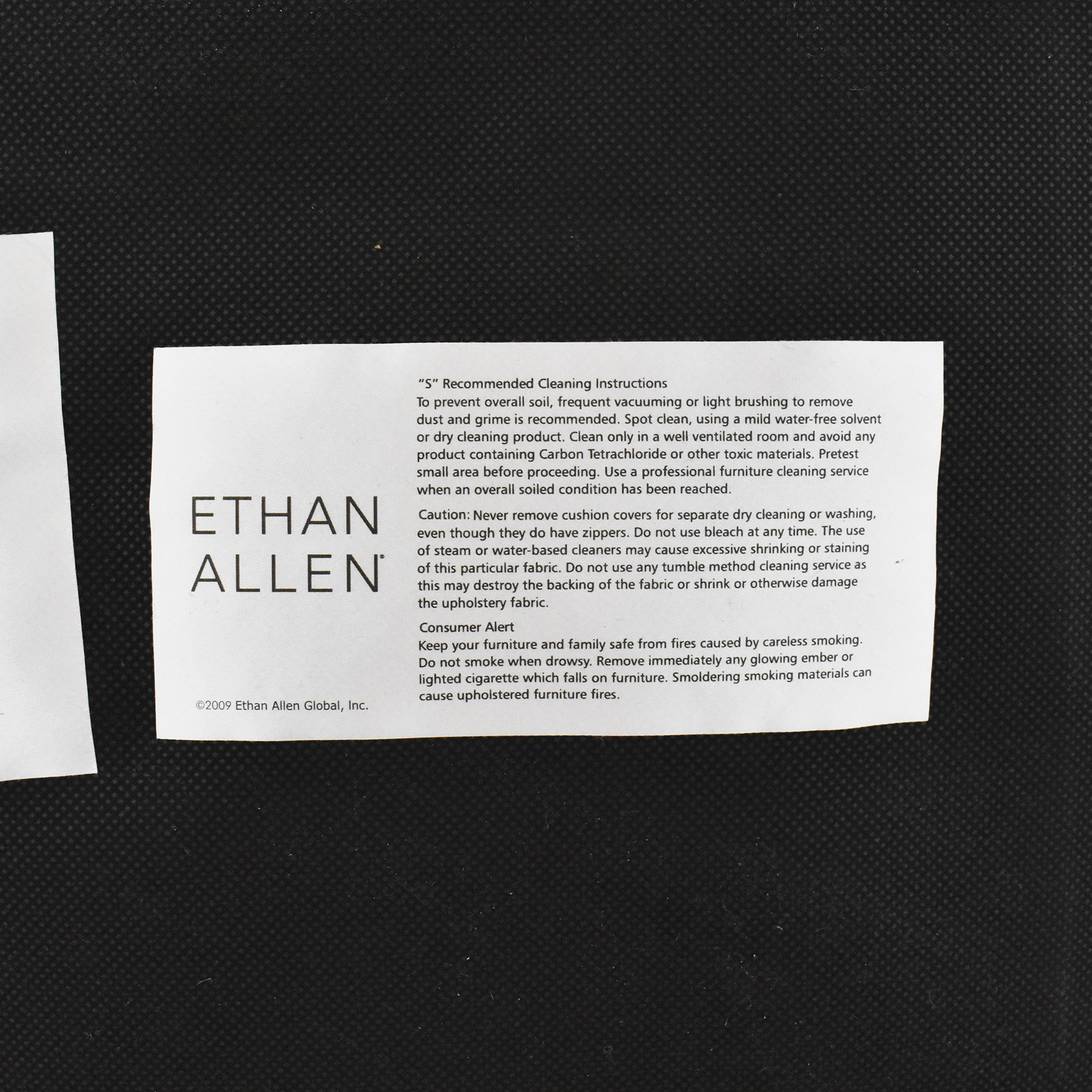Ethan Allen Ethan Allen Square Ottoman Ottomans