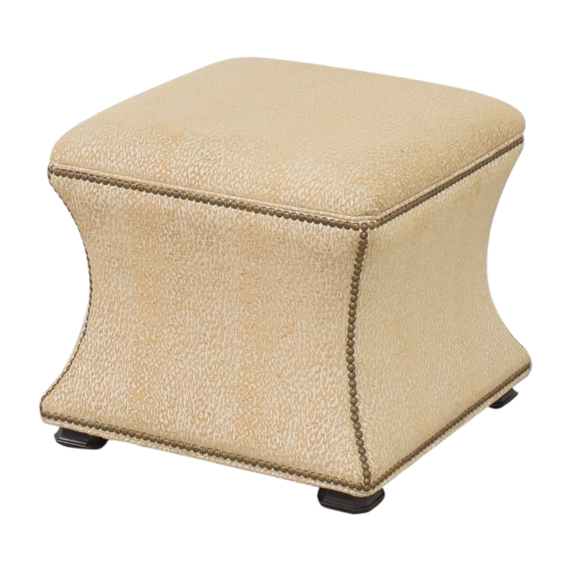 Ethan Allen Square Ottoman / Chairs
