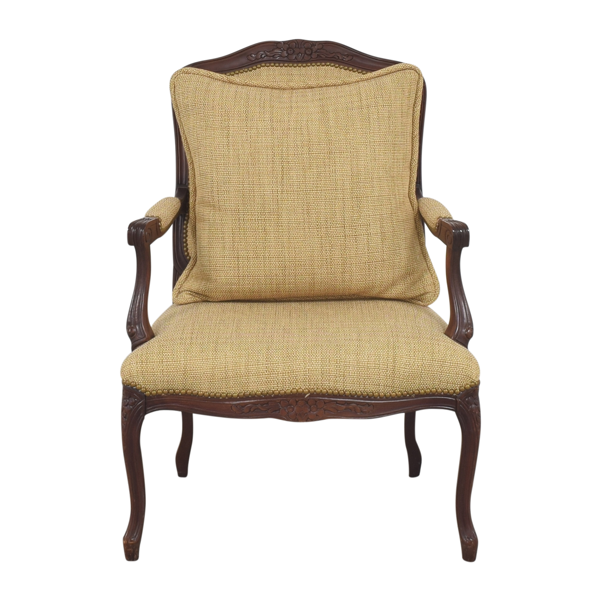 Upholstered Accent Chair second hand