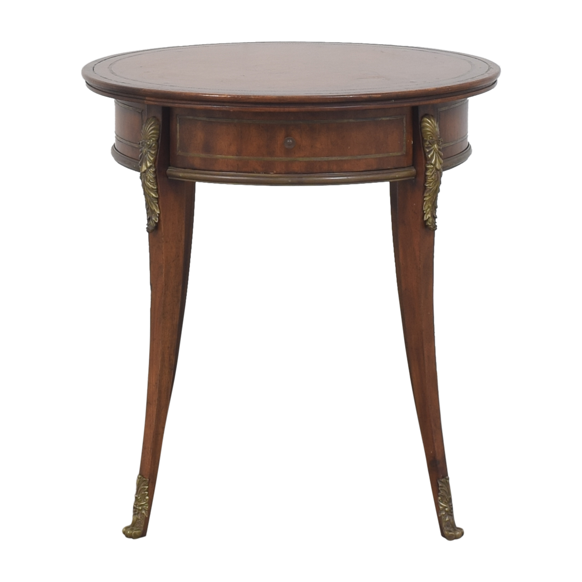 John-Richard John-Richard European Crossroads Single Drawer Side Table dimensions