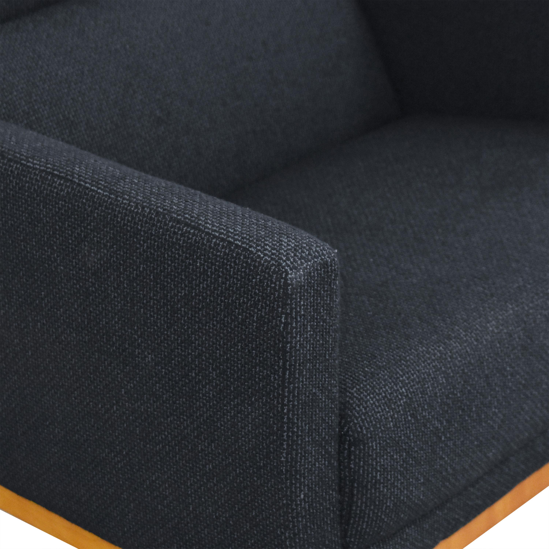 Brayton International Passerelle Lounge Chair Brayton International