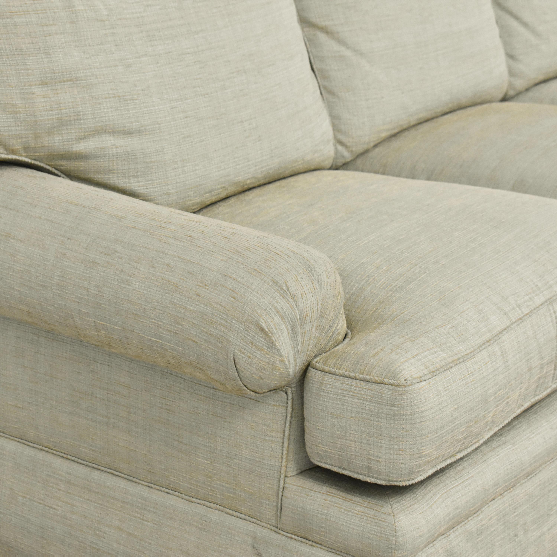 Kravet Kravet Three Cushion Skirted Sofa used