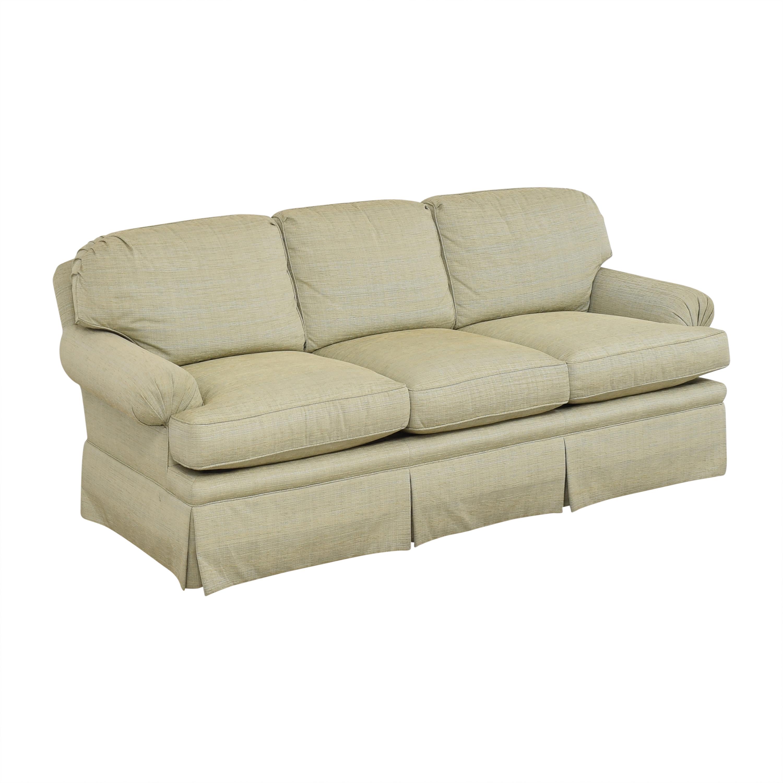 Kravet Kravet Three Cushion Skirted Sofa Sofas