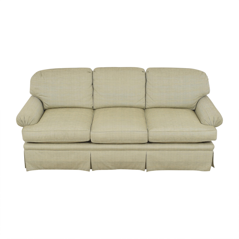 Kravet Kravet Three Cushion Skirted Sofa Classic Sofas