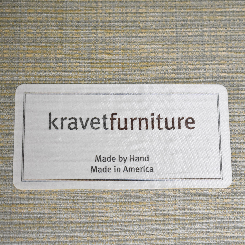 Kravet Kravet Three Cushion Skirted Sofa pa