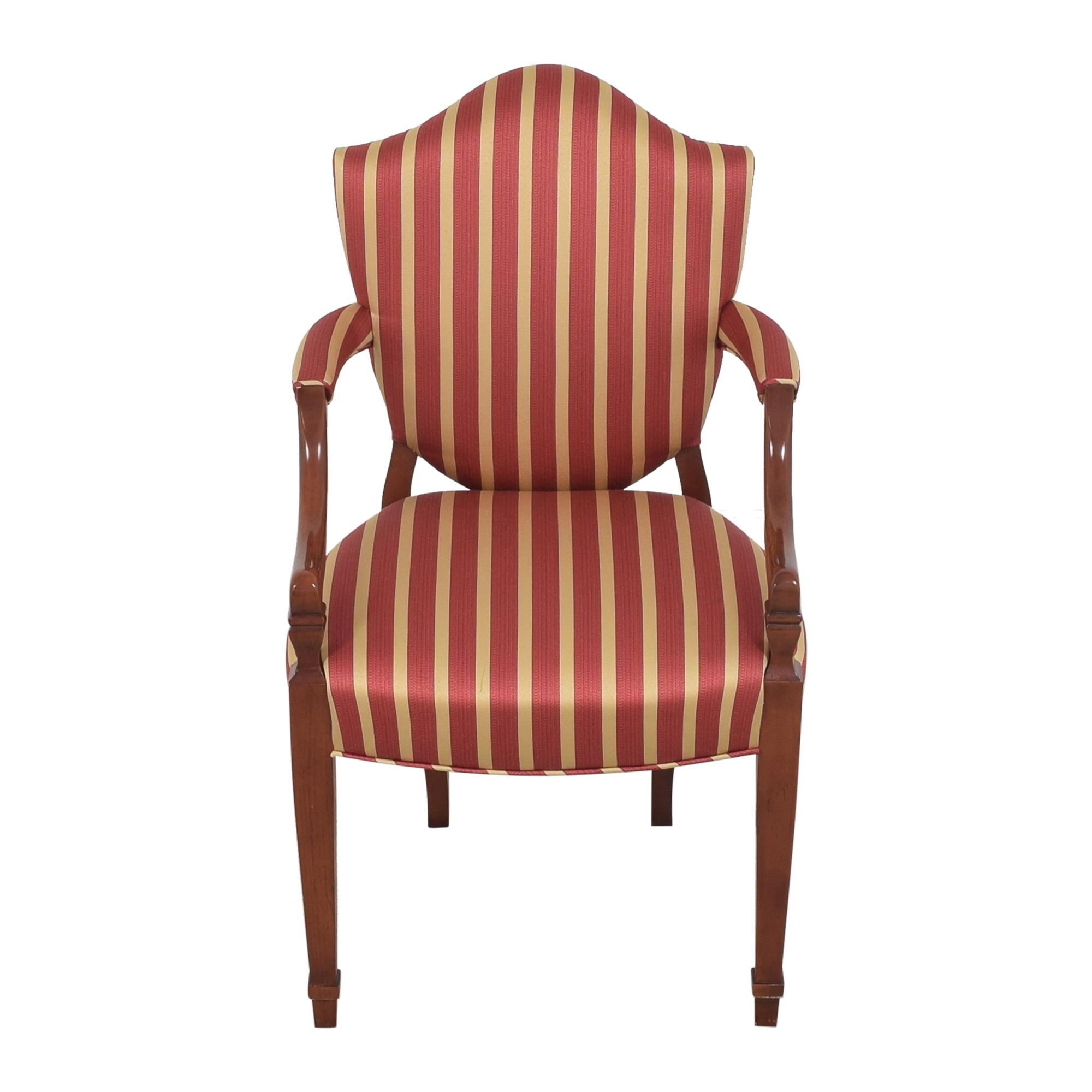 Baker Furniture Baker Furniture Shield Back Dining Chair dimensions
