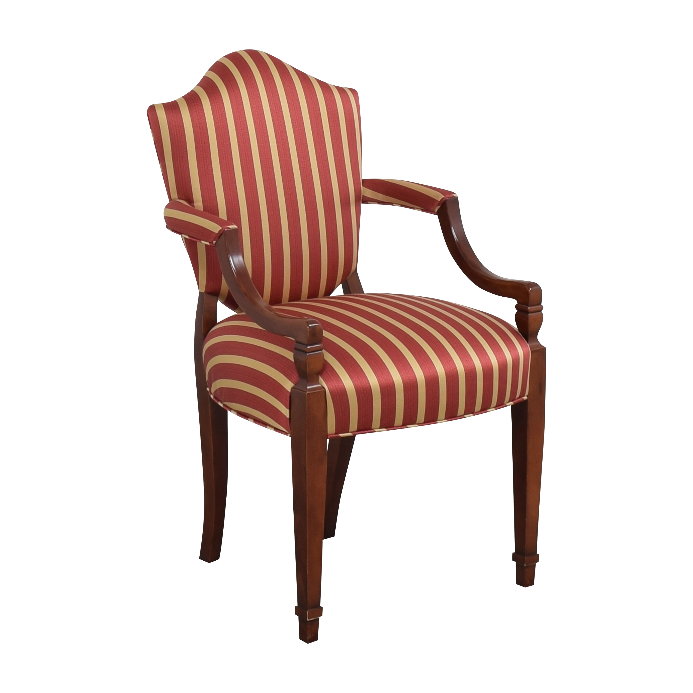 shop Baker Furniture Shield Back Dining Chair Baker Furniture Dining Chairs
