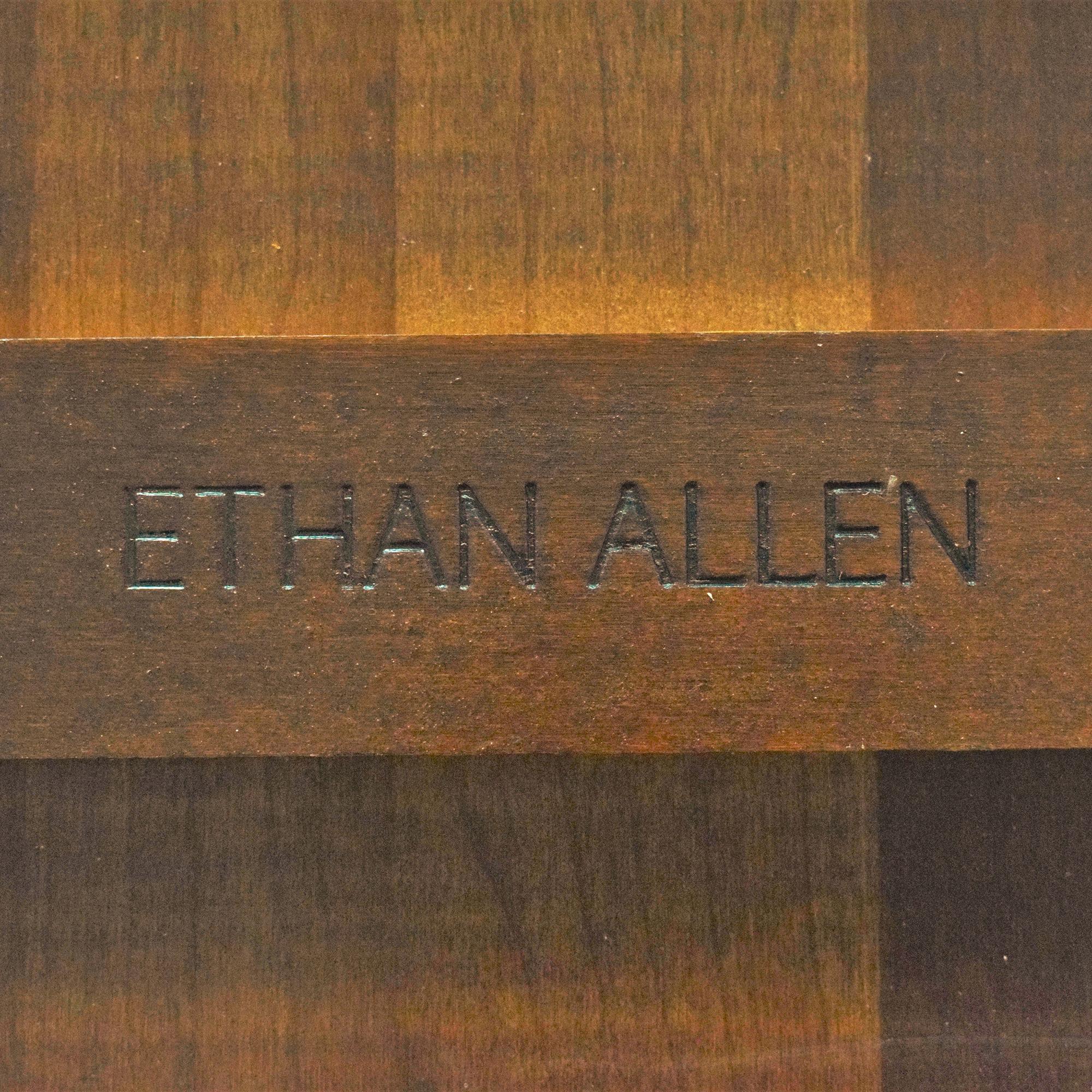 buy Ethan Allen Ethan Allen Georgian Court Oval Extendable Dining Table online