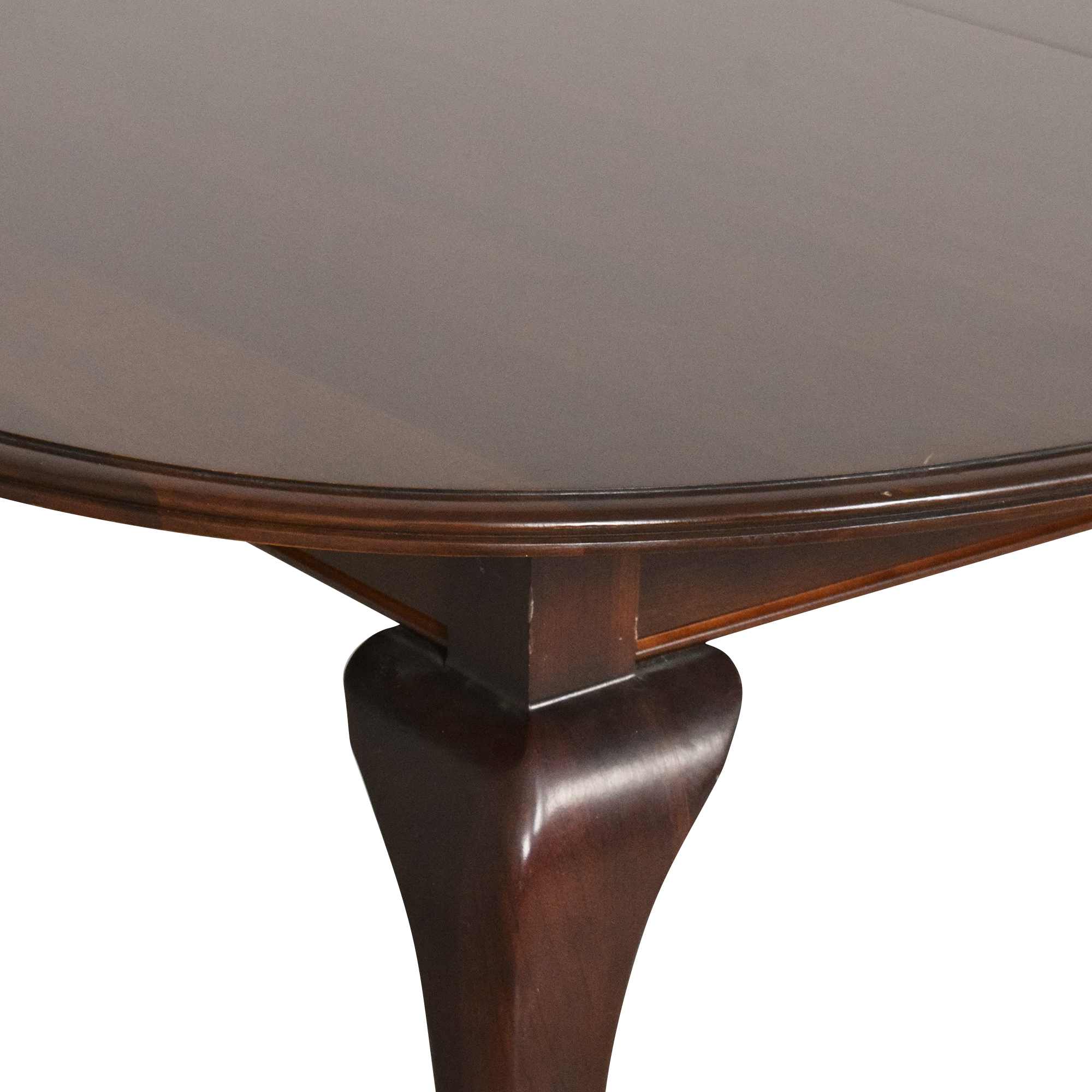 Ethan Allen Ethan Allen Georgian Court Oval Extendable Dining Table nyc