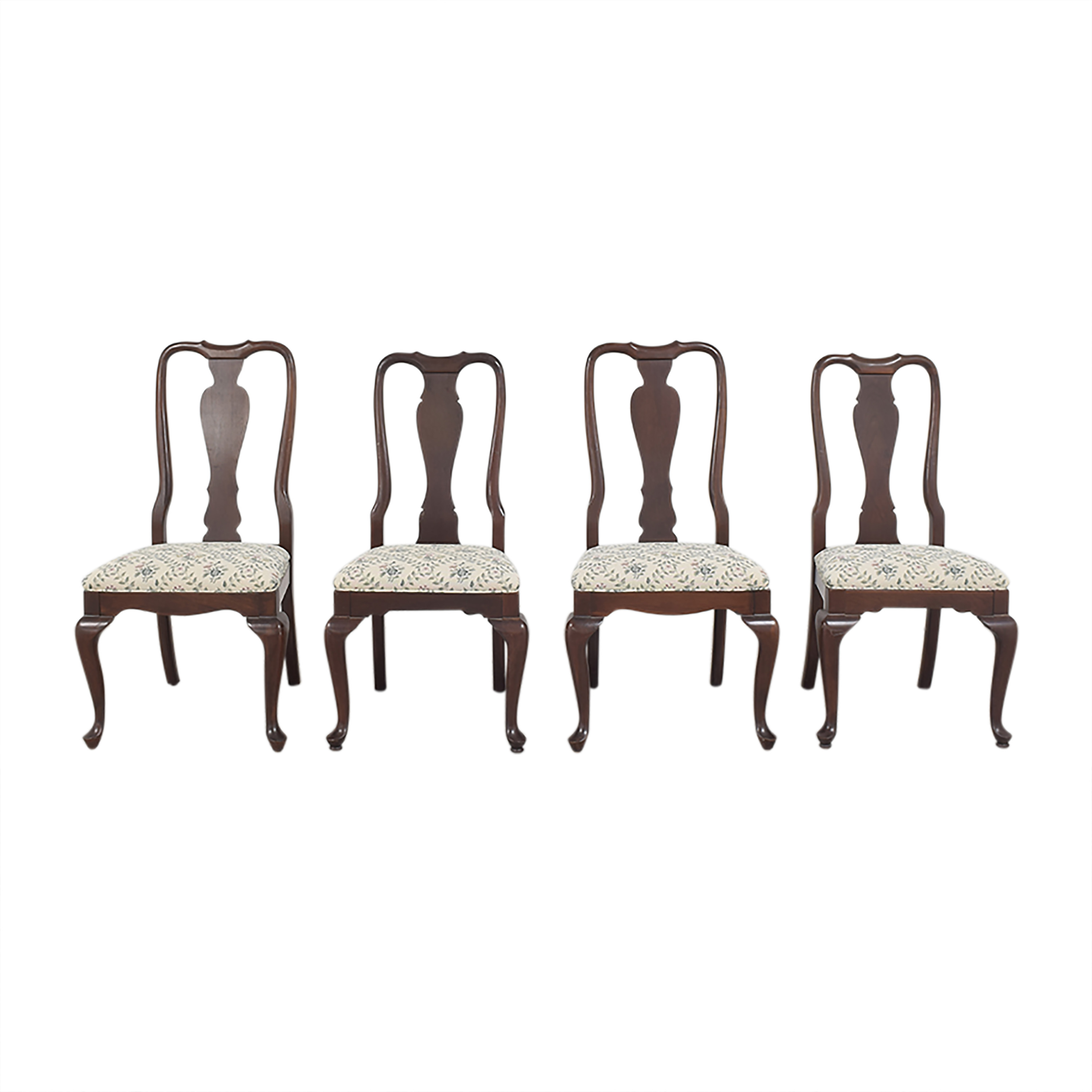 Ethan Allen Georgian Court Dining Side Chairs  sale
