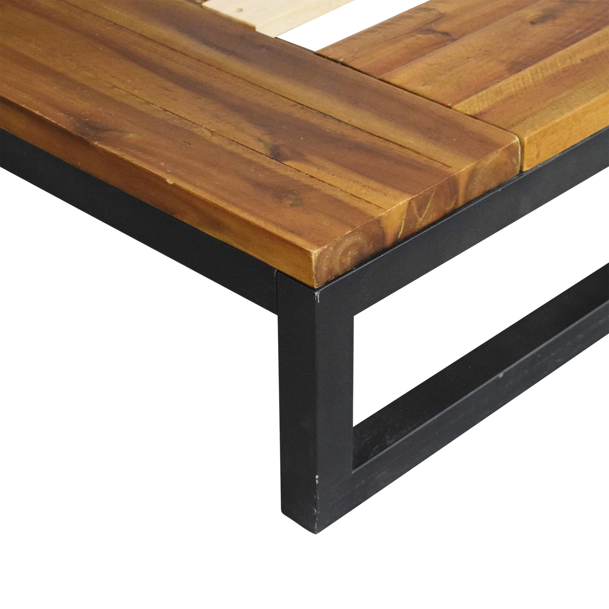 West Elm Logan Industrial Platform Bed / Beds