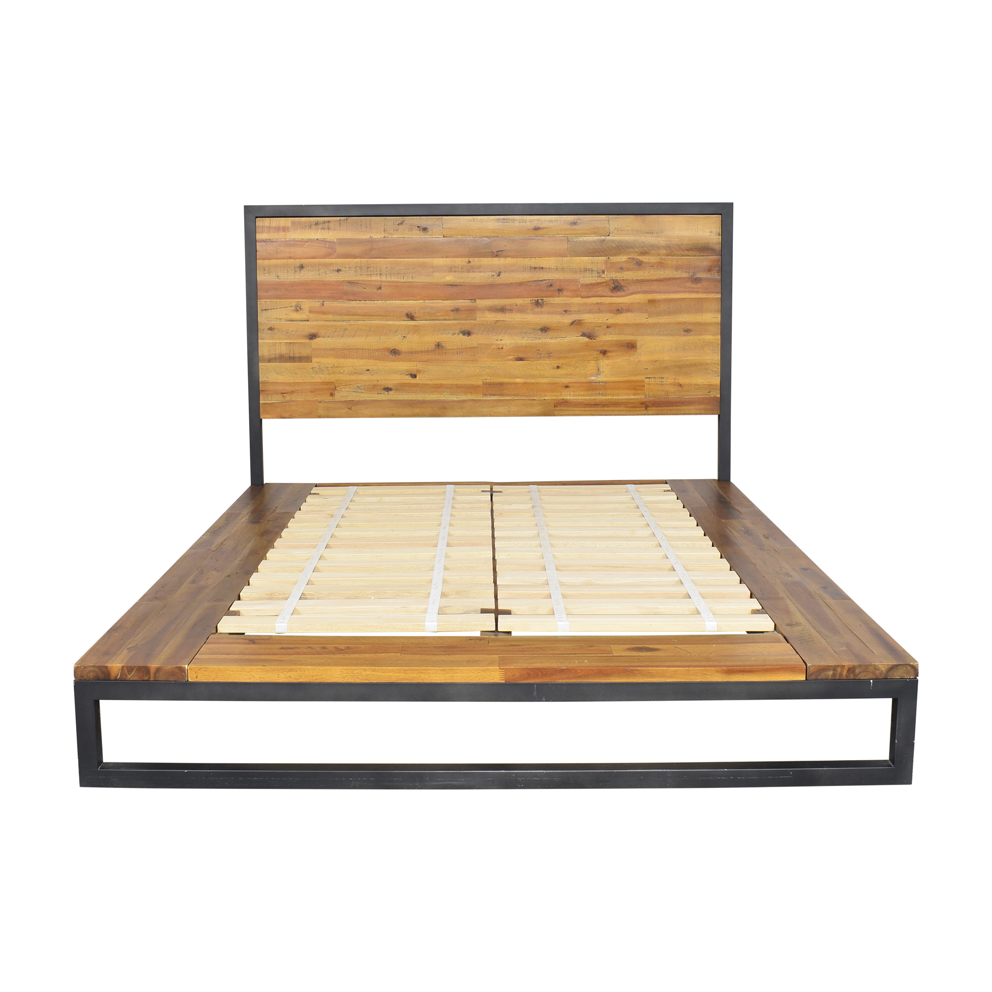 West Elm Logan Industrial Platform Bed / Bed Frames