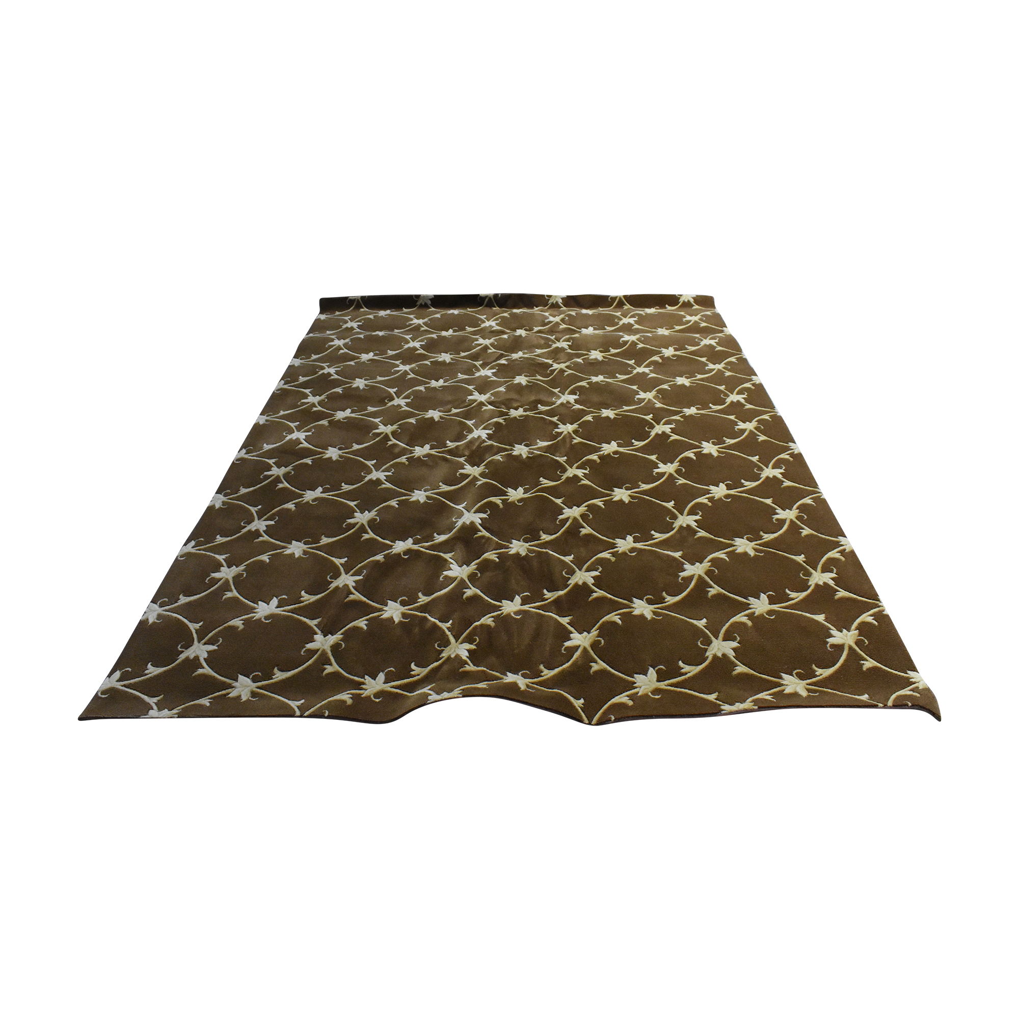 Country Carpet Country Carpet Patterned Area Rug brown and cream