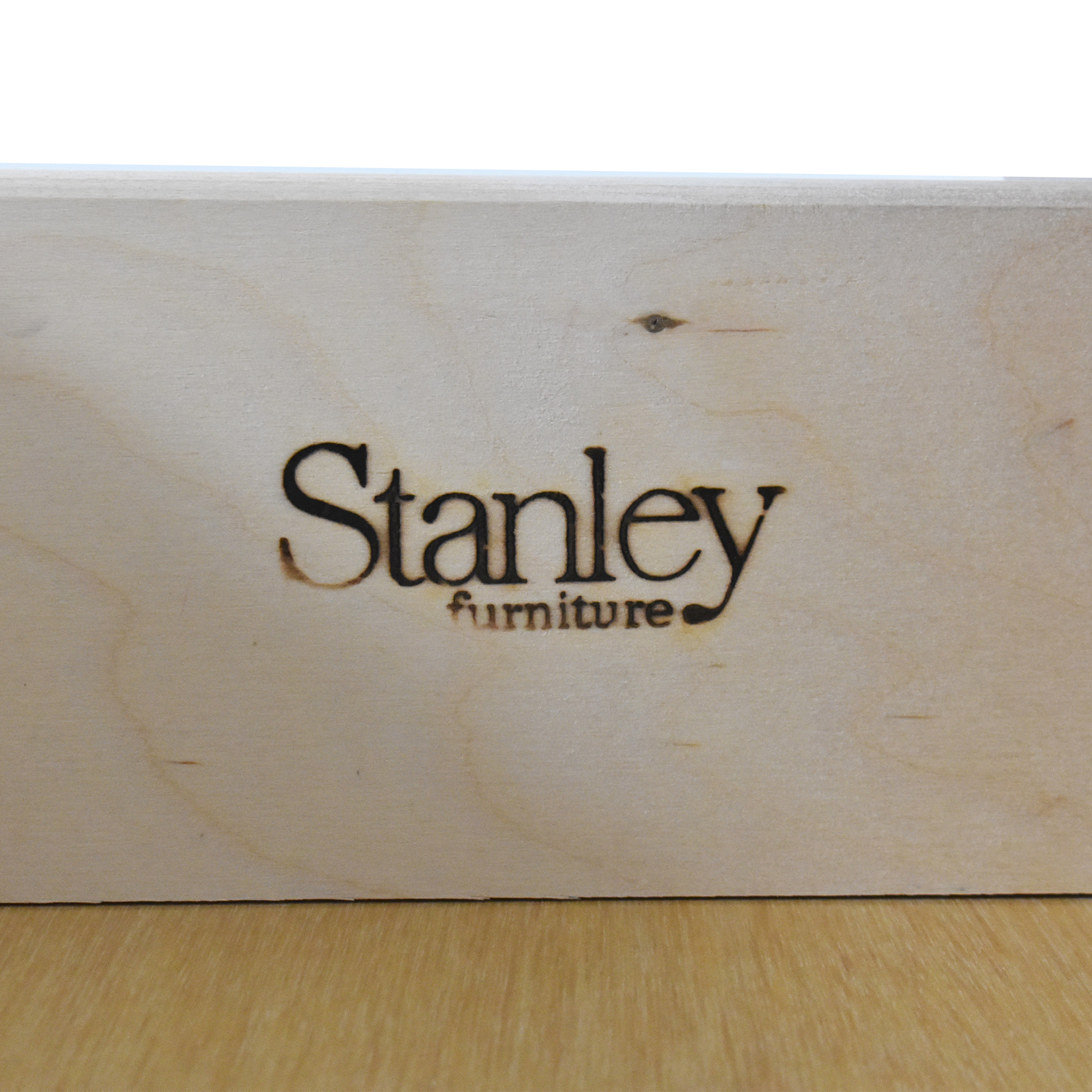 Stanley Furniture Stanley Furniture Young America Caroline Chest and Hutch white