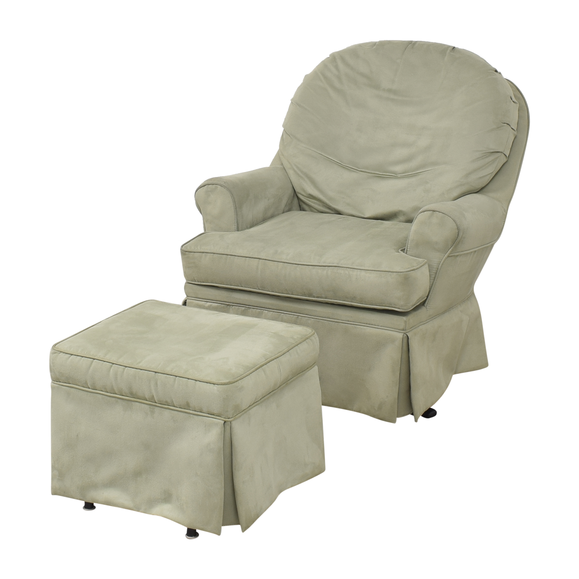 buy Dutailier Upholstered Glider with Ottoman Dutailier Chairs