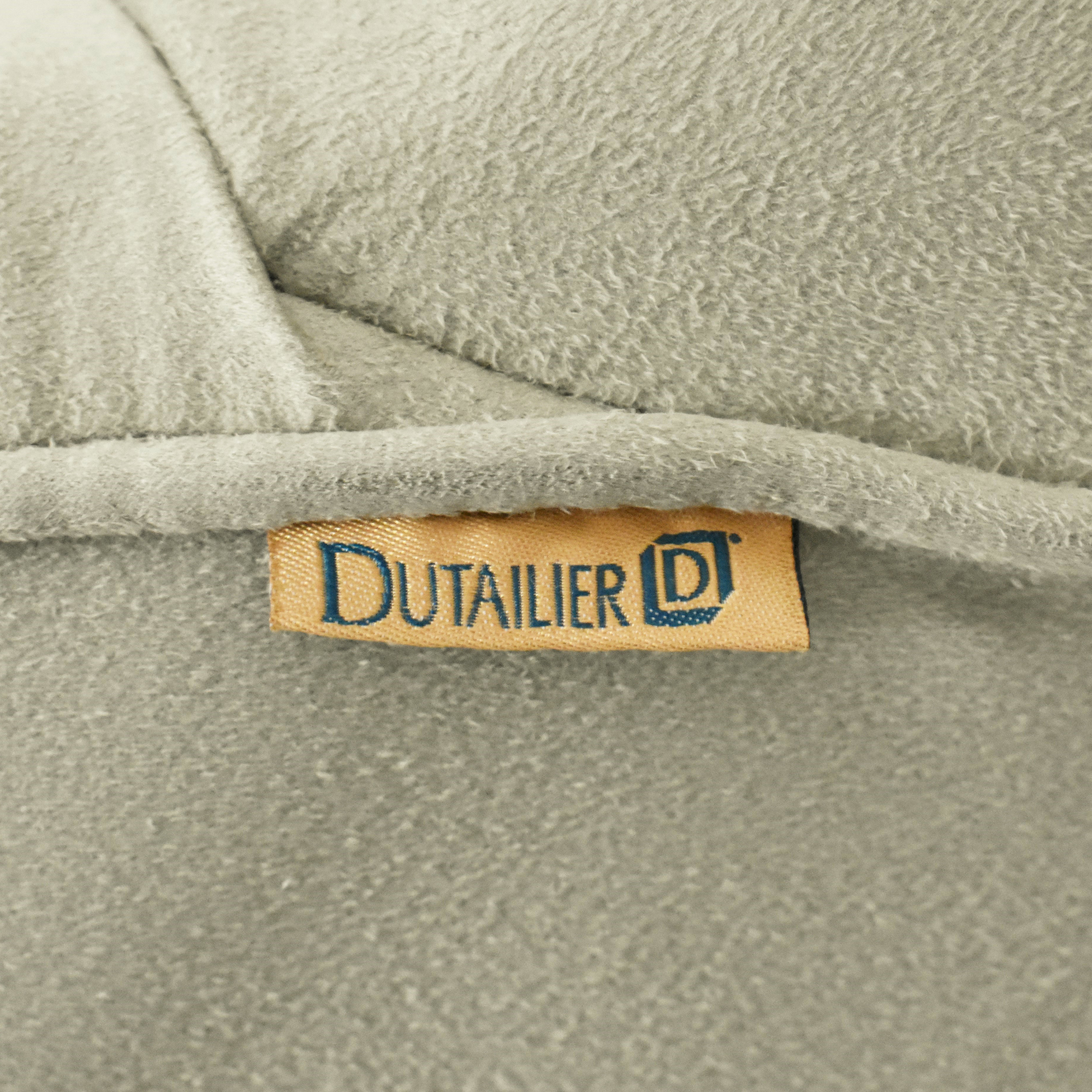 Dutailier Dutailier Upholstered Glider with Ottoman ma