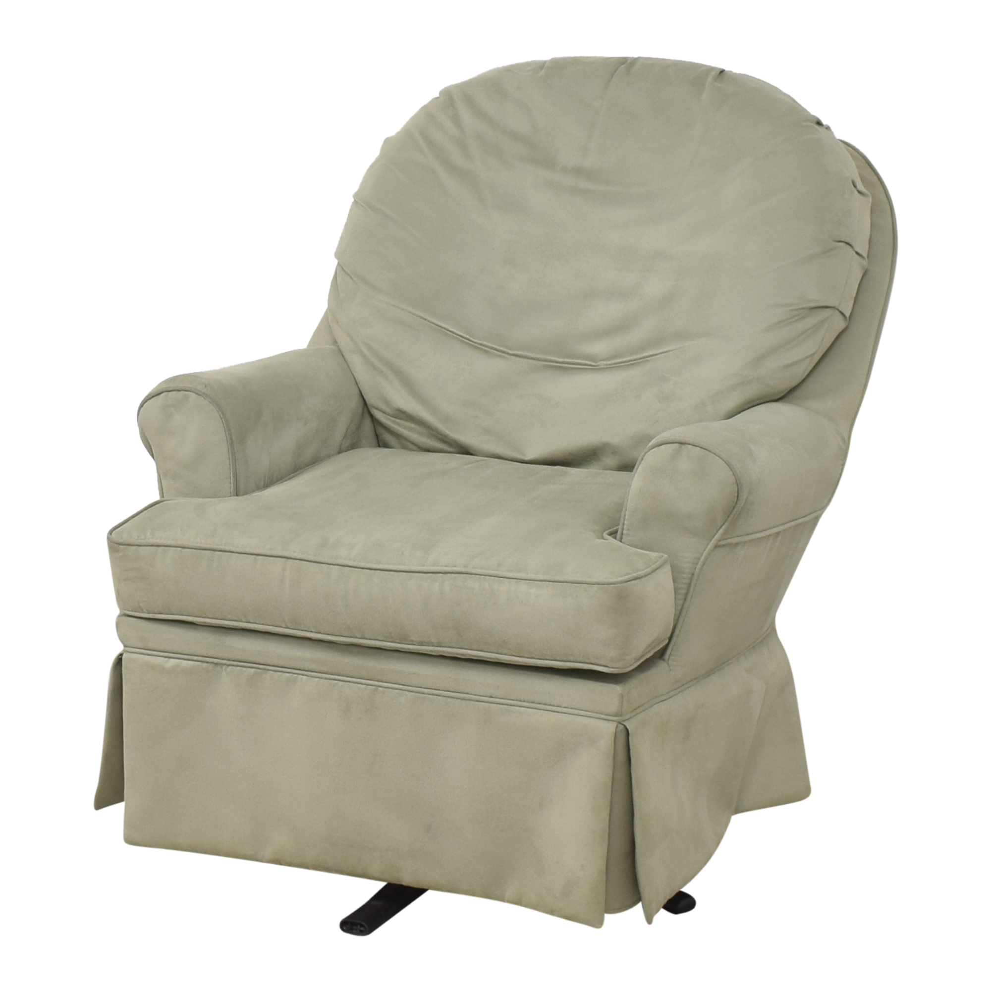 shop Dutailier Upholstered Glider with Ottoman Dutailier