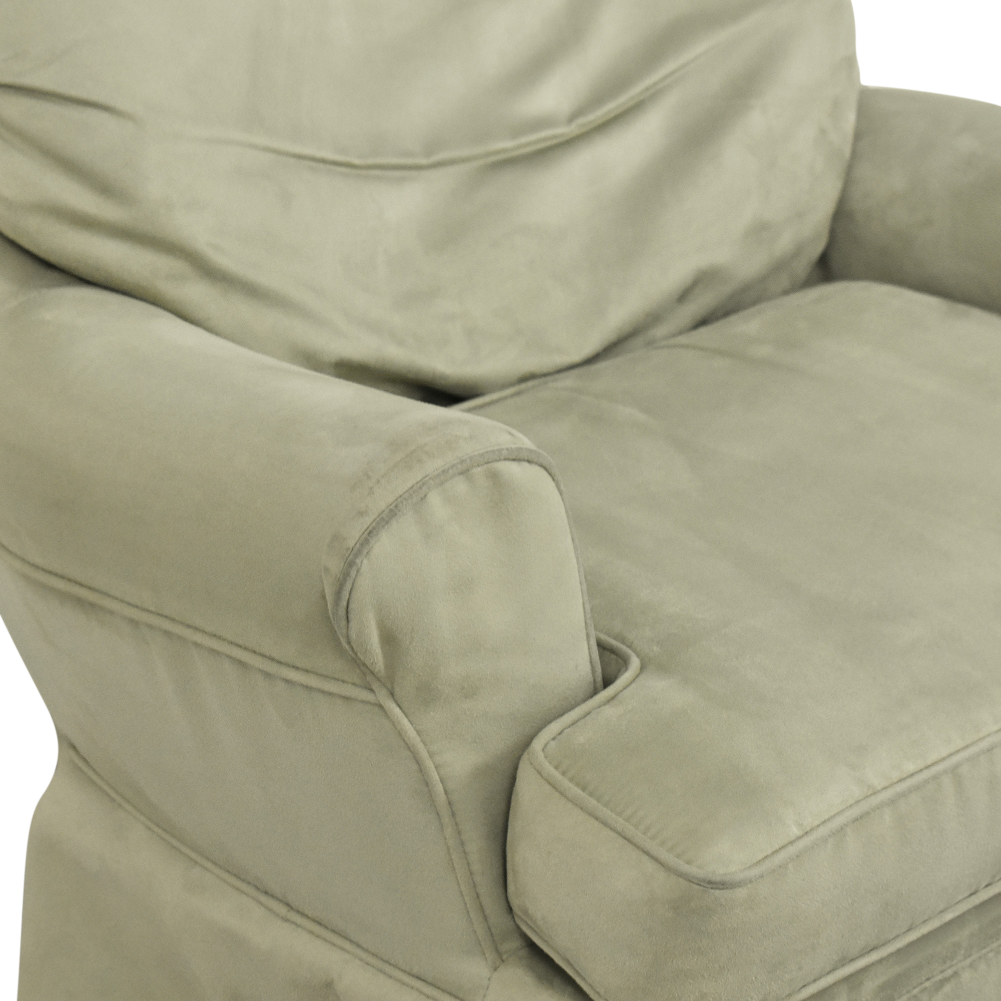 Dutailier Dutailier Upholstered Glider with Ottoman coupon