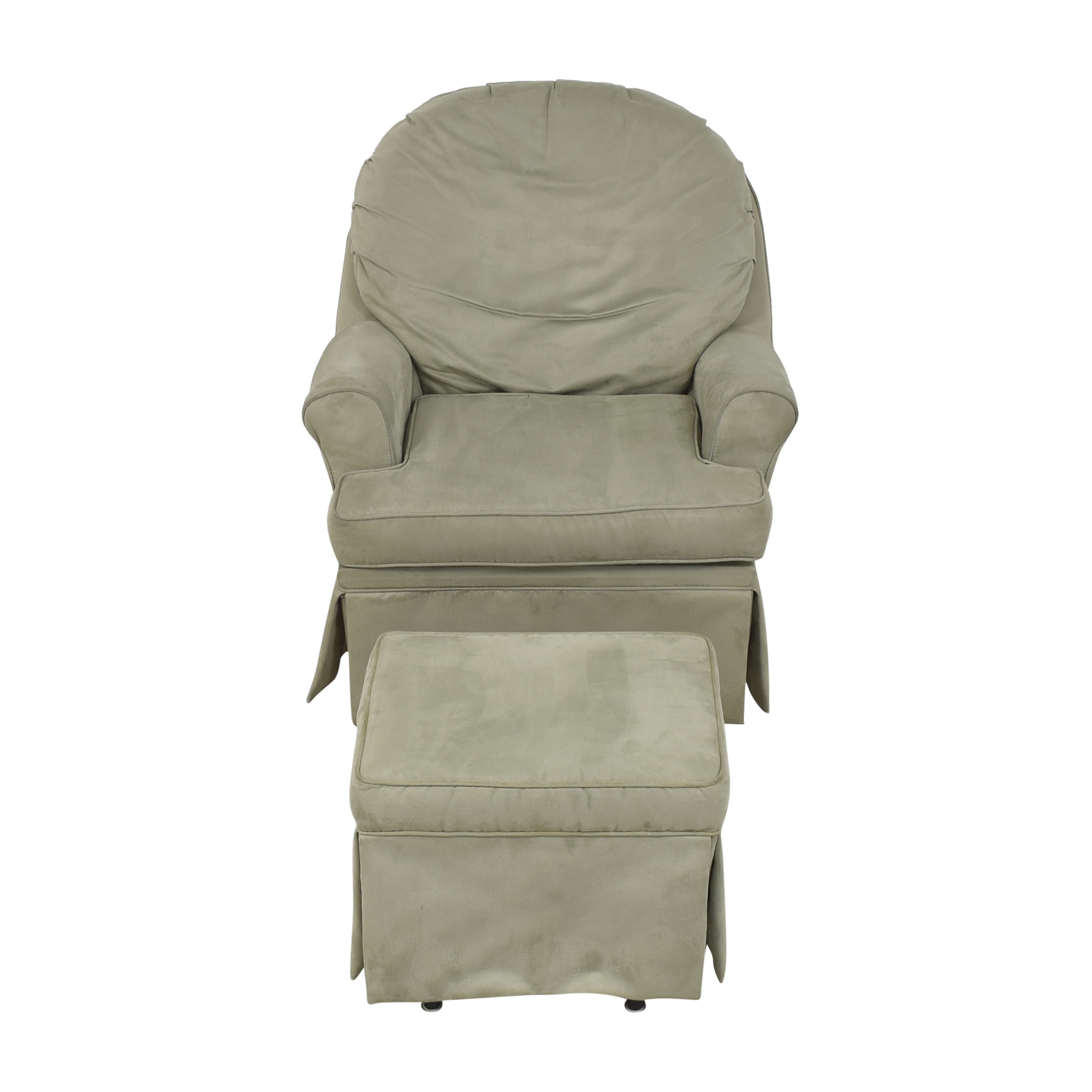 buy Dutailier Dutailier Upholstered Glider with Ottoman online