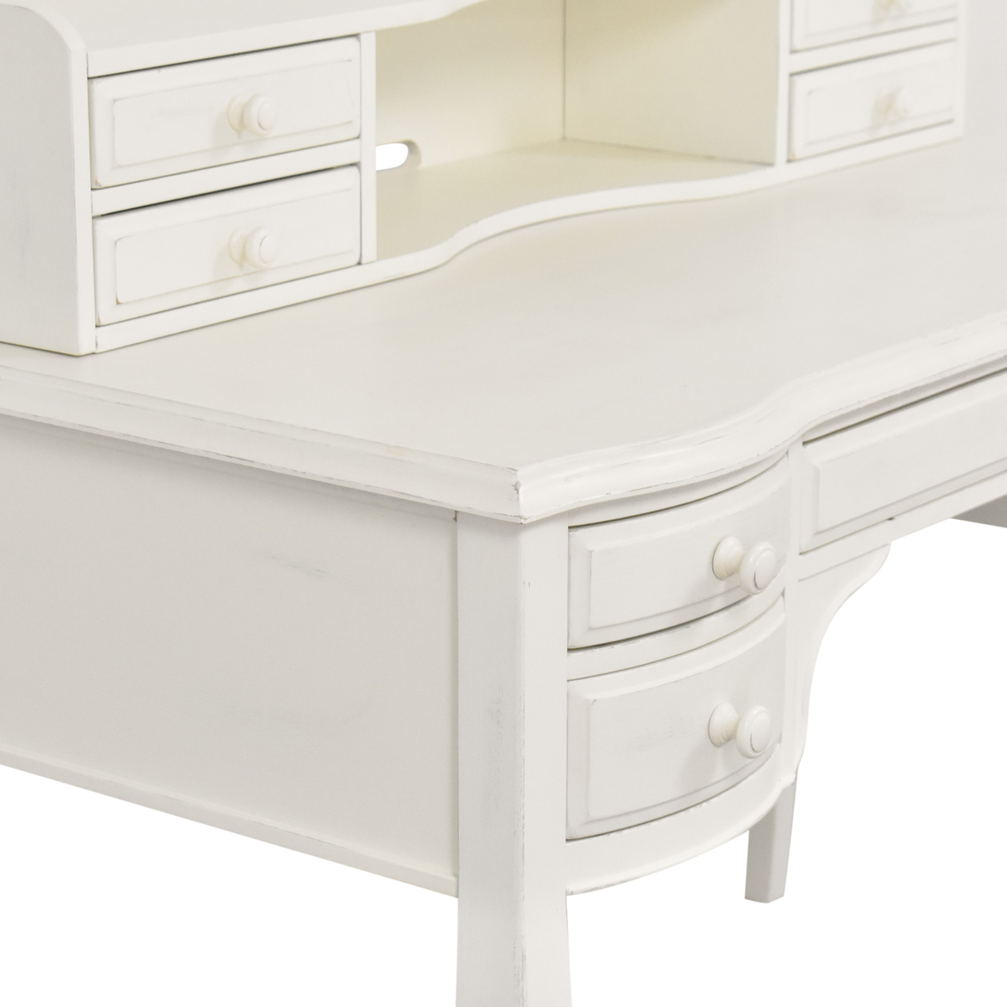 Pottery Barn Teen Pottery Barn Teen Lilac Classic Desk with Hutch for sale