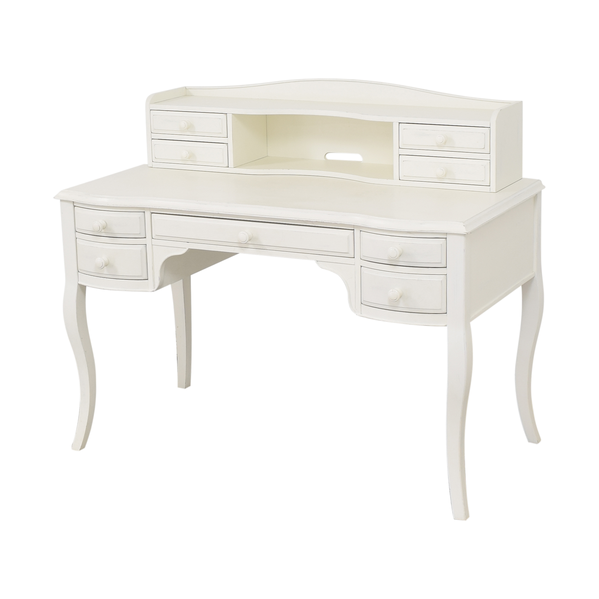 buy Pottery Barn Teen Lilac Classic Desk with Hutch Pottery Barn Teen Tables