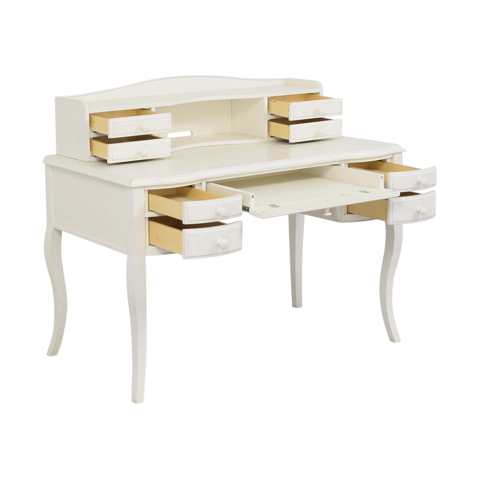 Pottery Barn Teen Pottery Barn Teen Lilac Classic Desk with Hutch nj