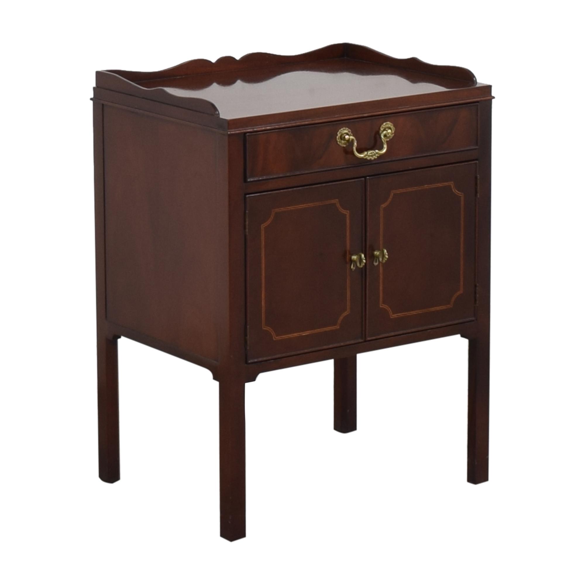 buy Baker Furniture Two Door Nightstand Baker Furniture