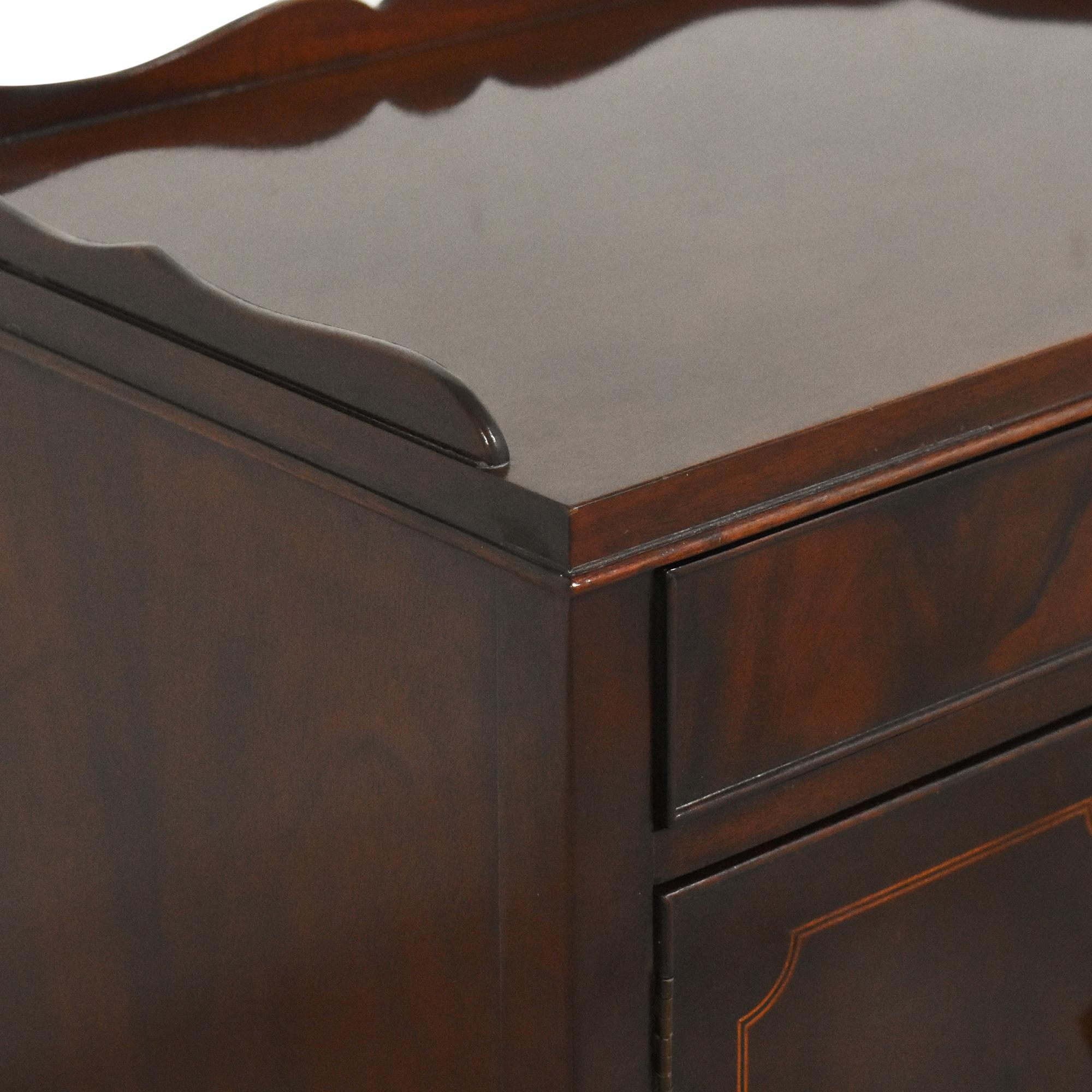 Baker Furniture Two Door Nightstand sale