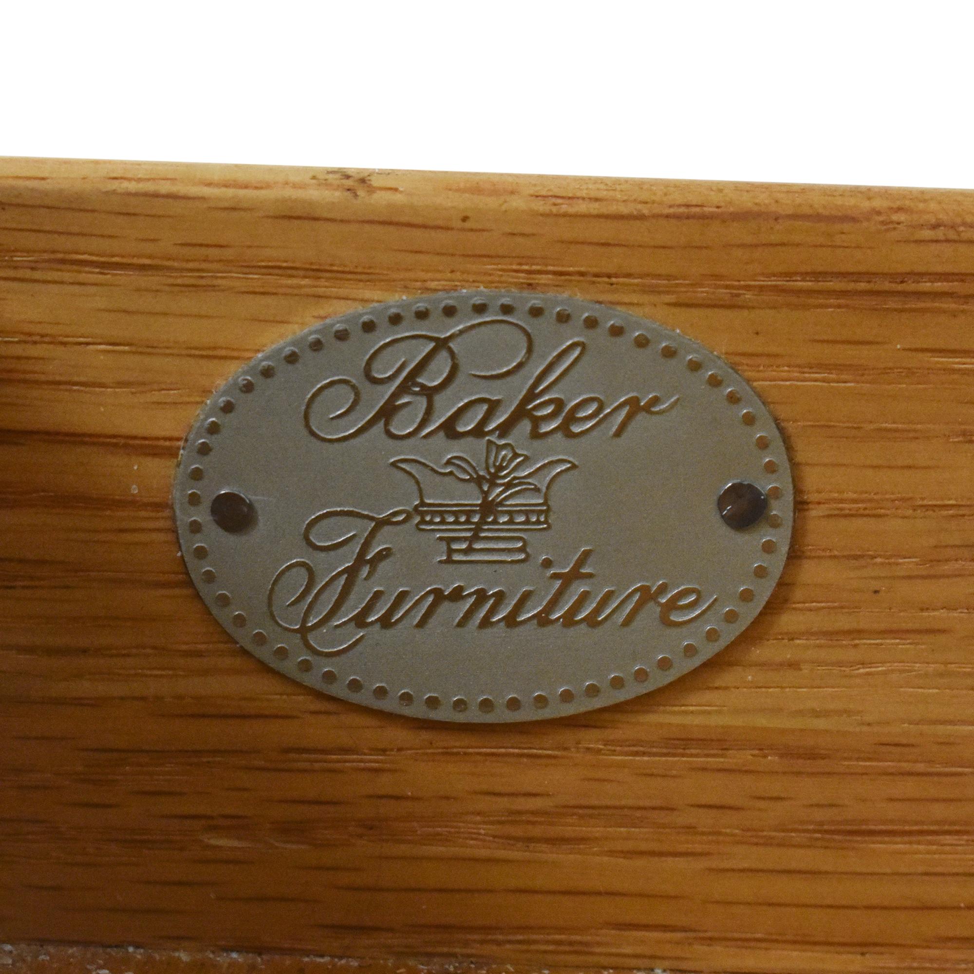 Baker Furniture Two Door Nightstand / Tables