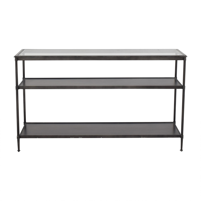 Crate & Barrel Crate & Barrel Kyra Modern Console Table gray