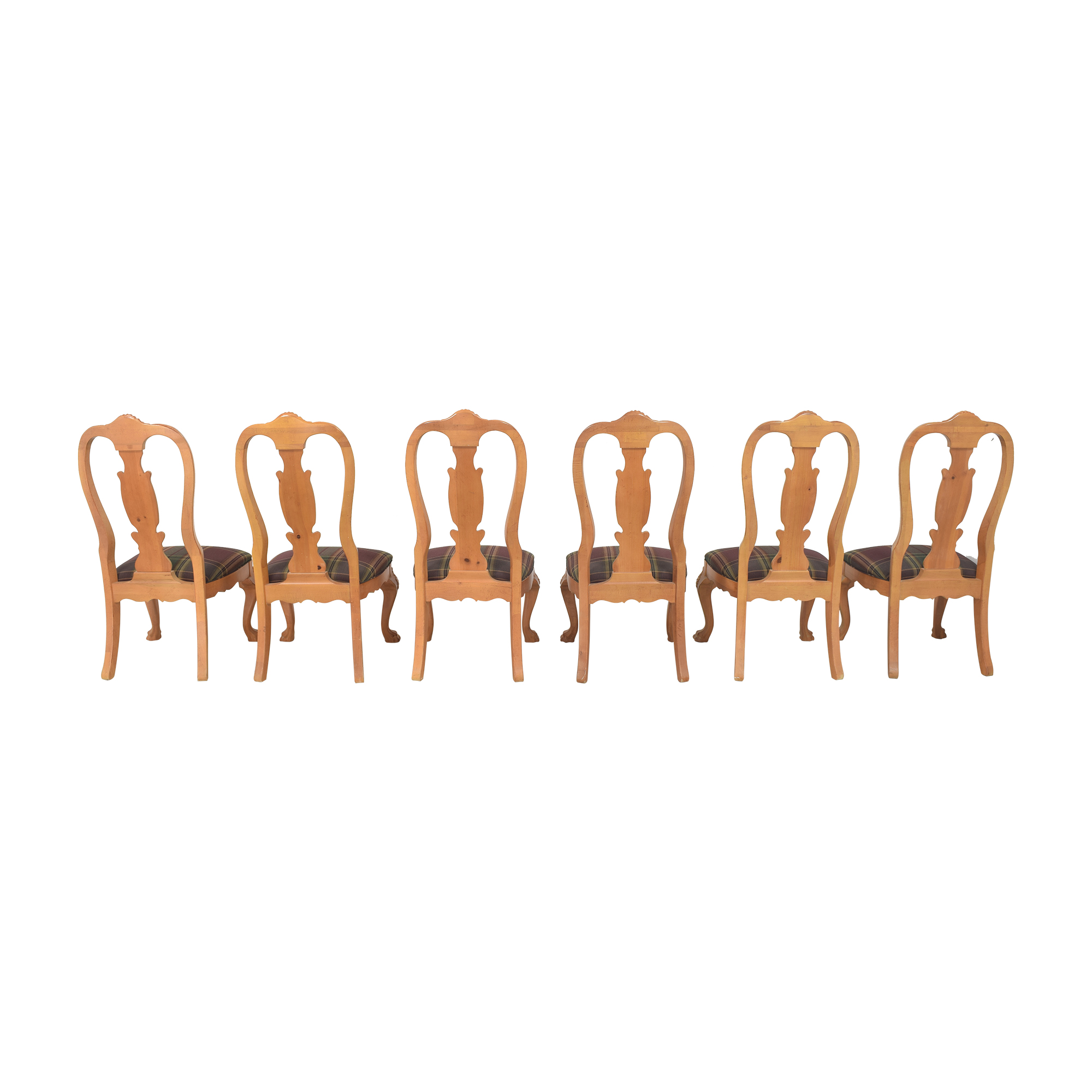 Thomasville Thomasville Upholstered Dining Side Chairs second hand