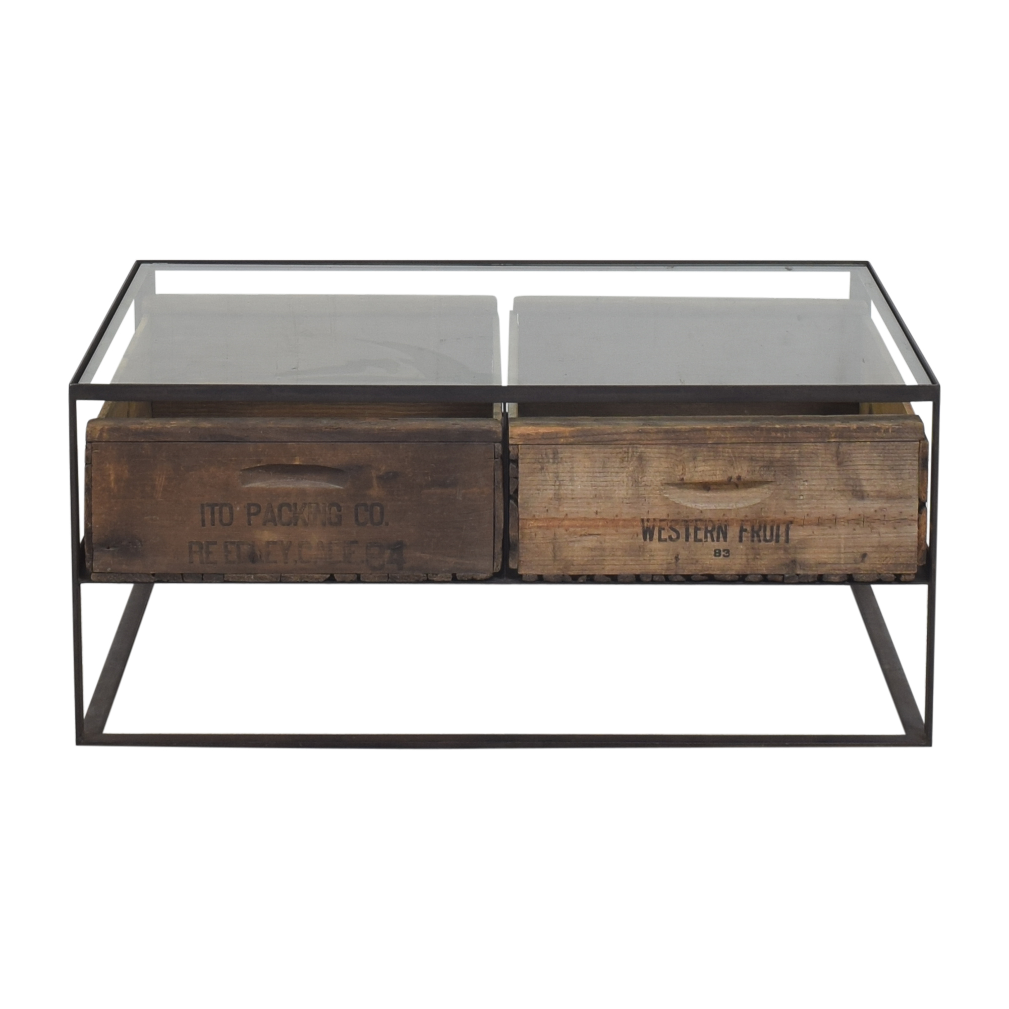shop ABC Carpet & Home ABC Carpet & Home Mason Two Crate Coffee Table online