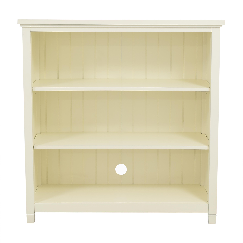 PBteen PBteen Beadboard Wide Bookcase used