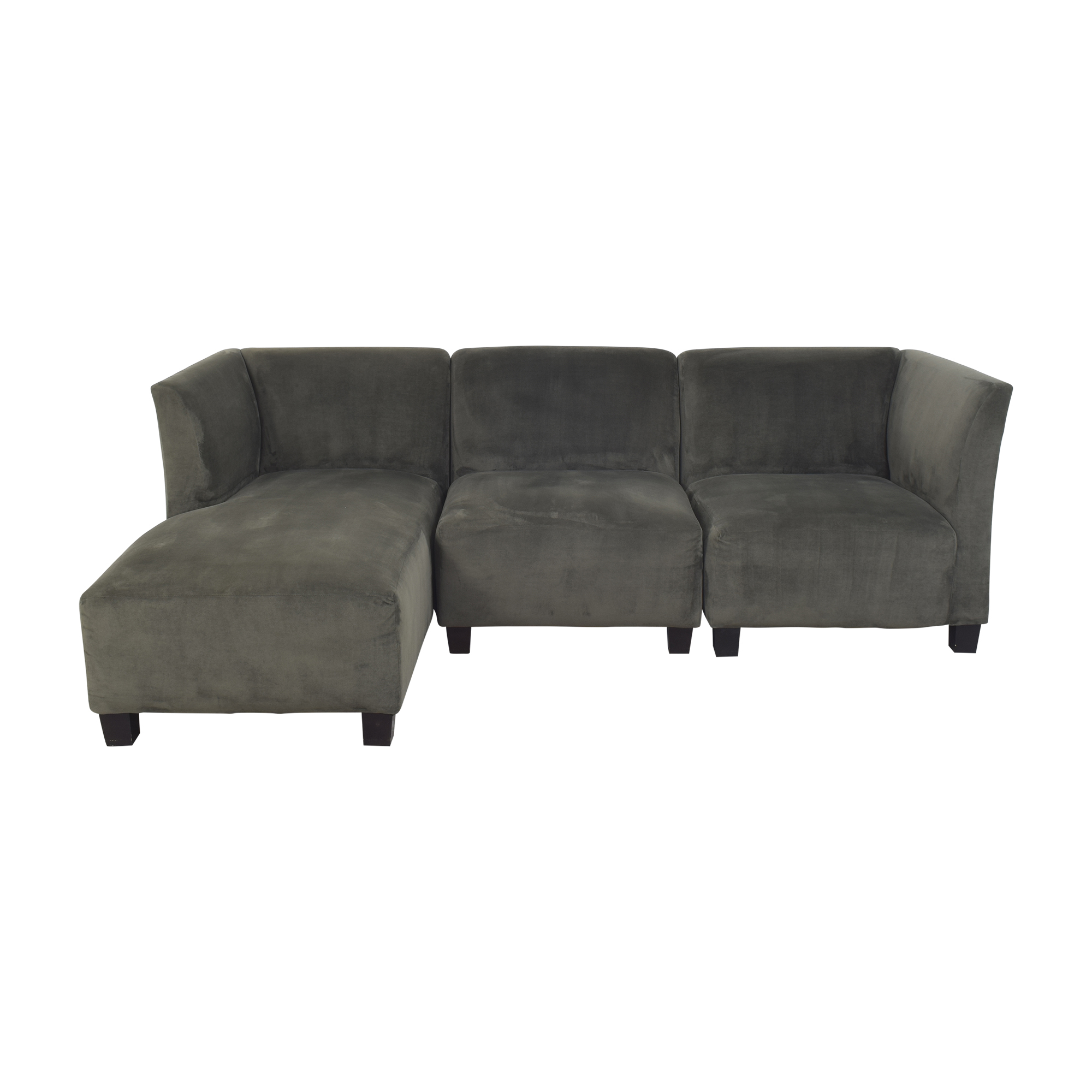 Raymour & Flanigan Raymour & Flanigan Chaise Sectional Sofa second hand