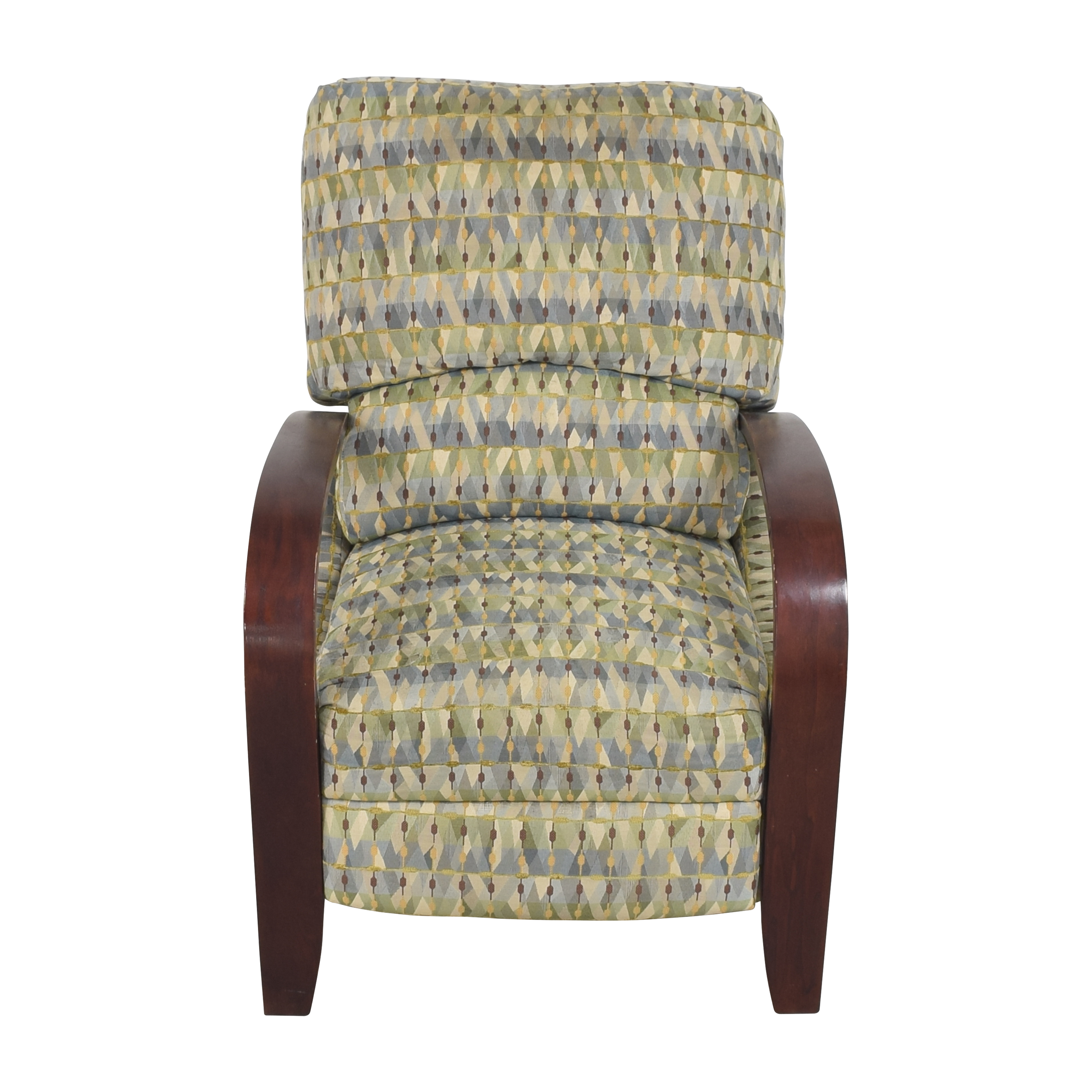 buy Raymour & Flanigan Patterned Recliner Raymour & Flanigan Chairs