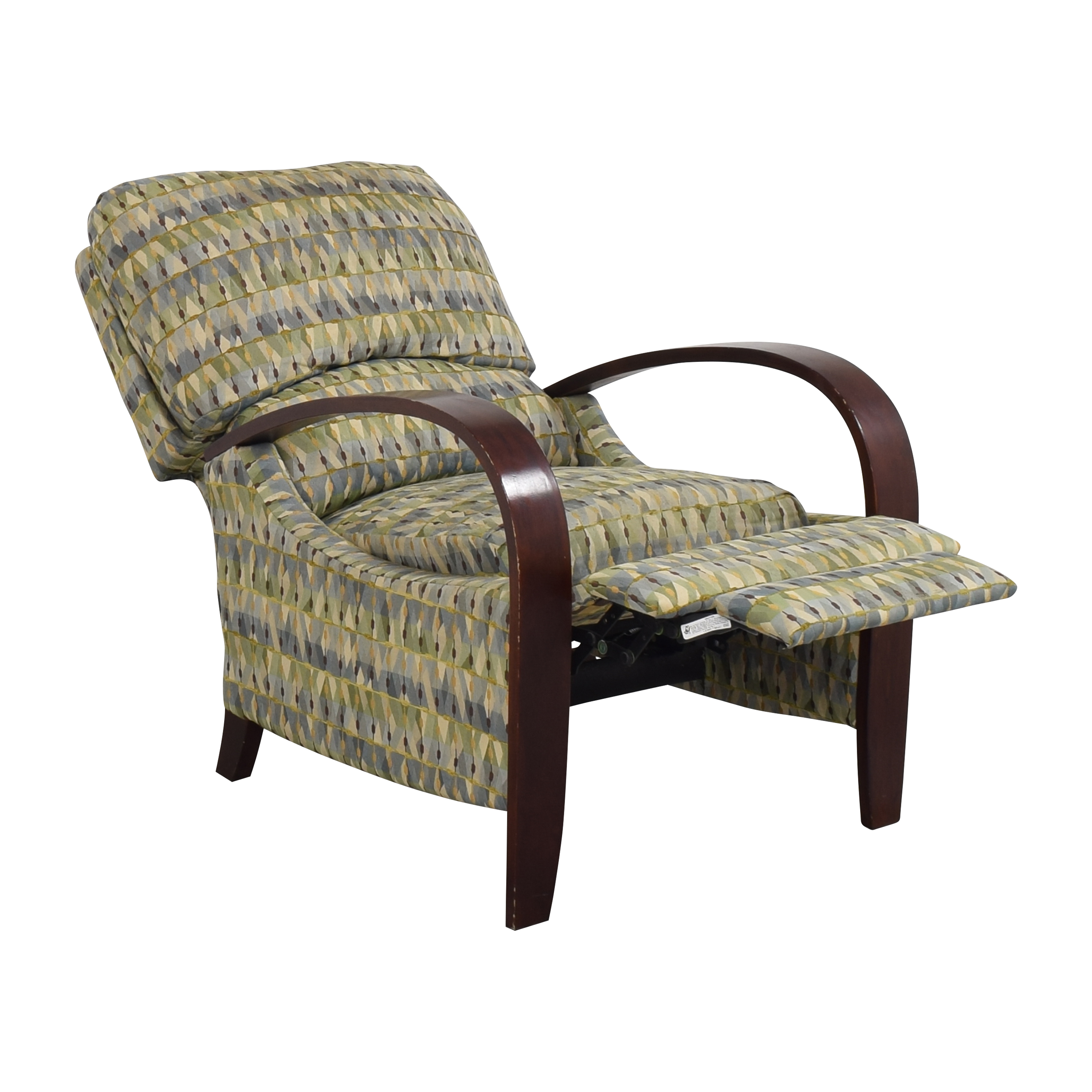 buy Raymour & Flanigan Patterned Recliner Raymour & Flanigan