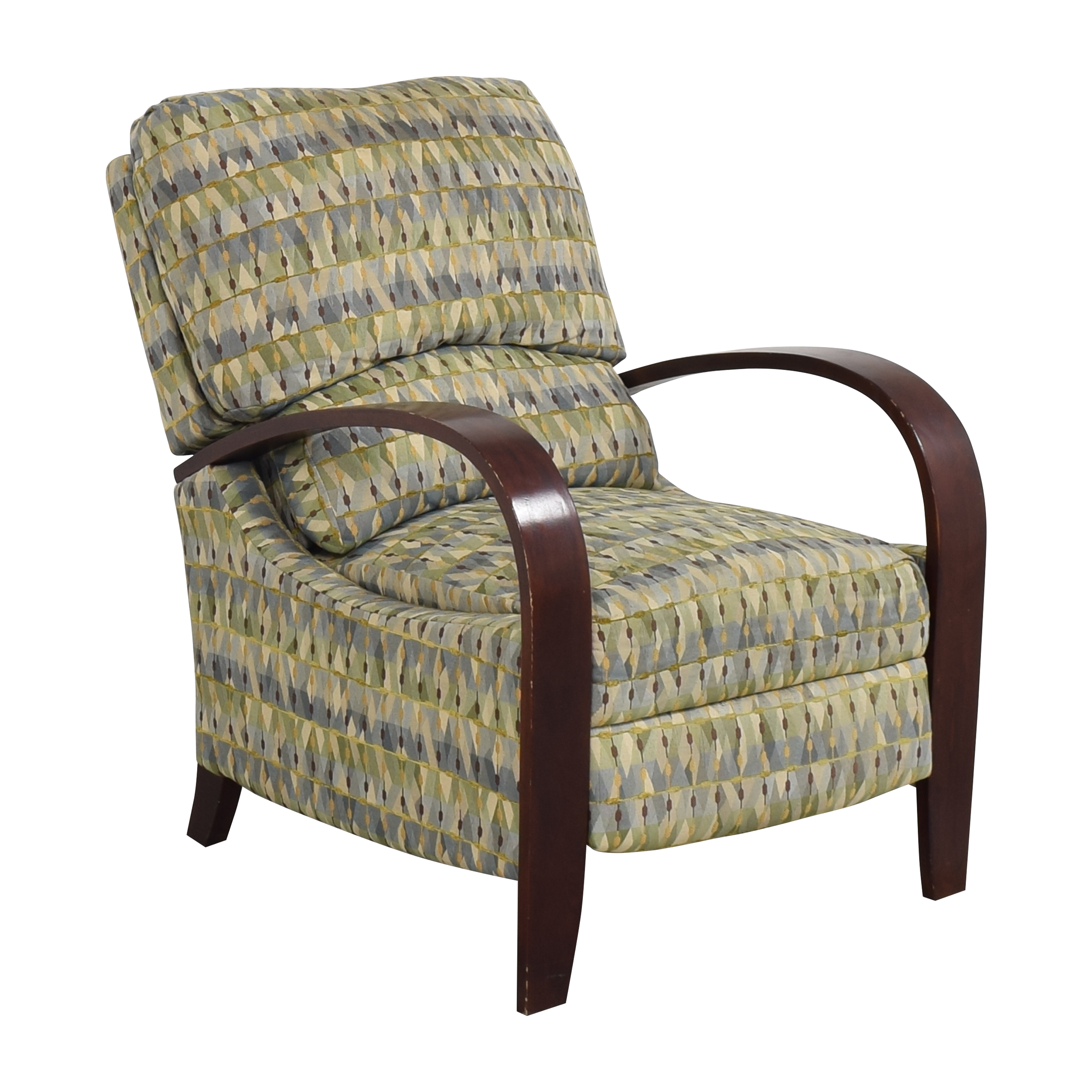 Raymour & Flanigan Raymour & Flanigan Patterned Recliner