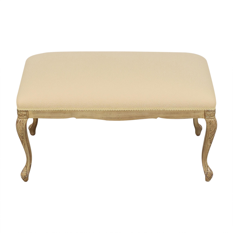 Louis J. Solomon Louis J. Solomon Upholstered Bench Chairs