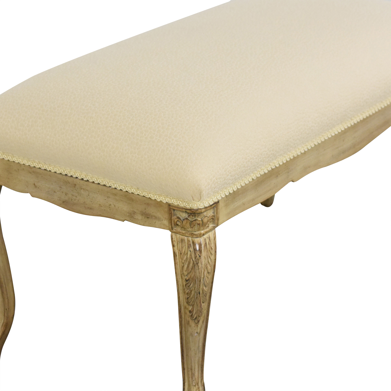 Louis J. Solomon Louis J. Solomon Upholstered Bench used