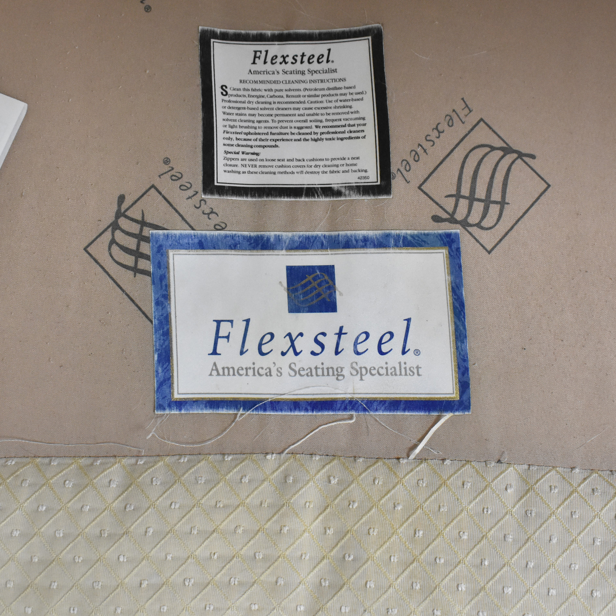 Flexsteel L Shaped Sectional Sofa sale