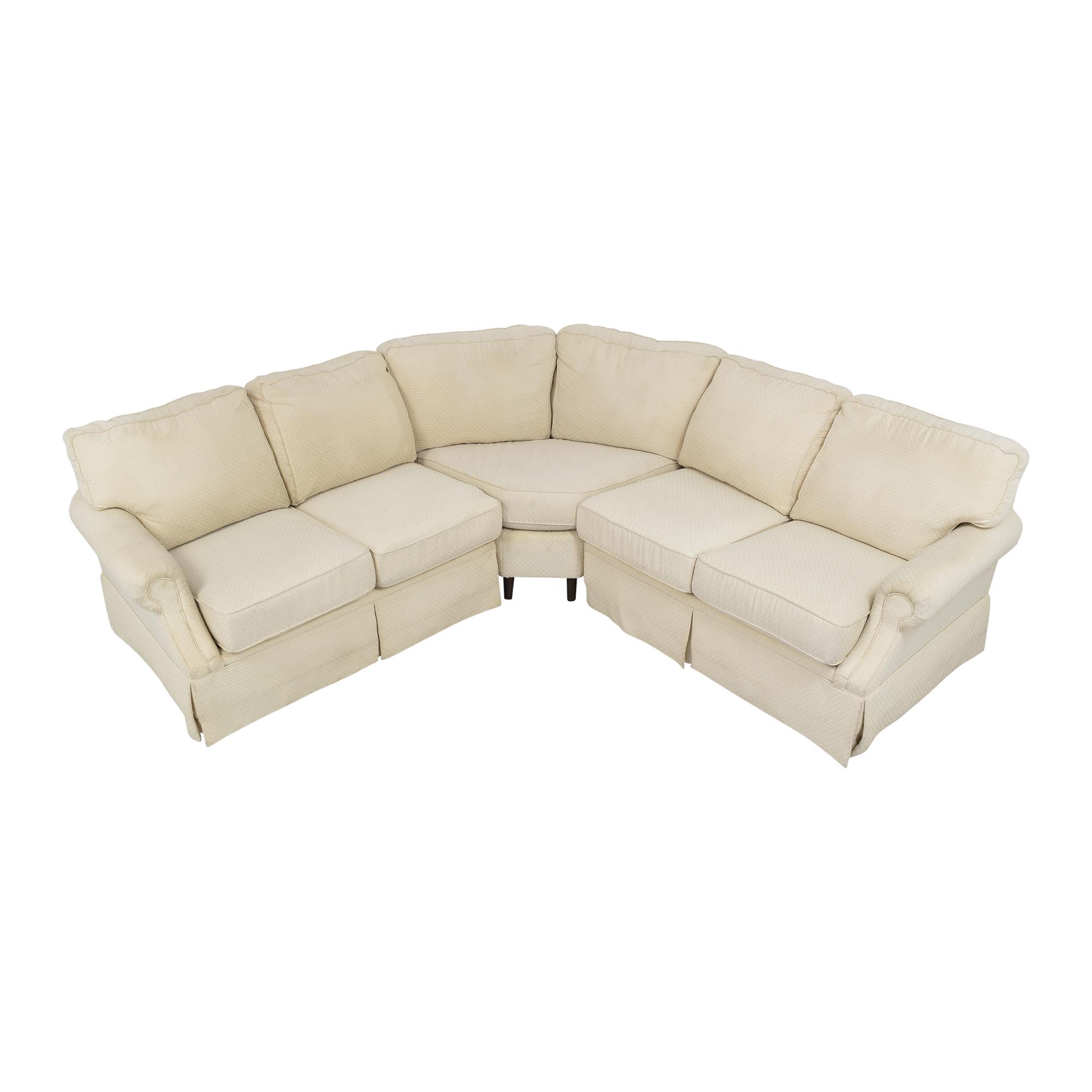 Flexsteel Flexsteel L Shaped Sectional Sofa ct