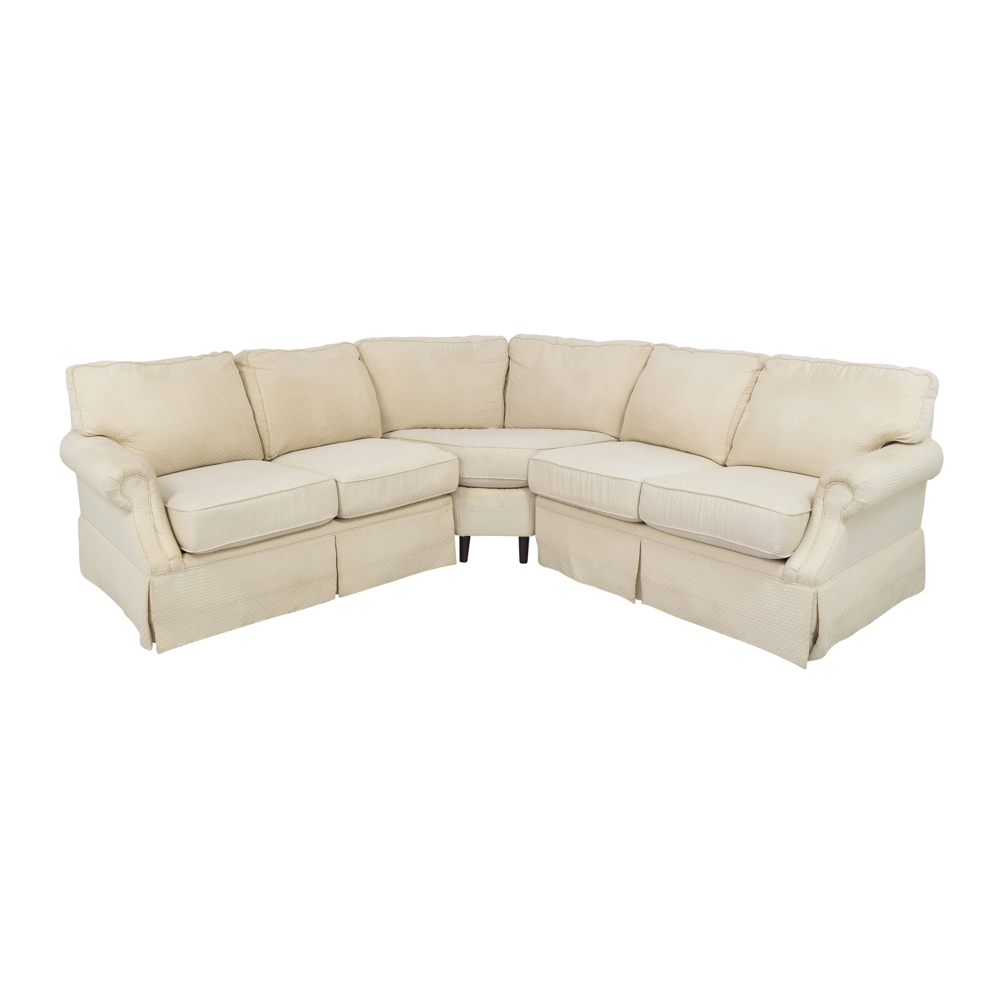 Flexsteel Flexsteel L Shaped Sectional Sofa pa