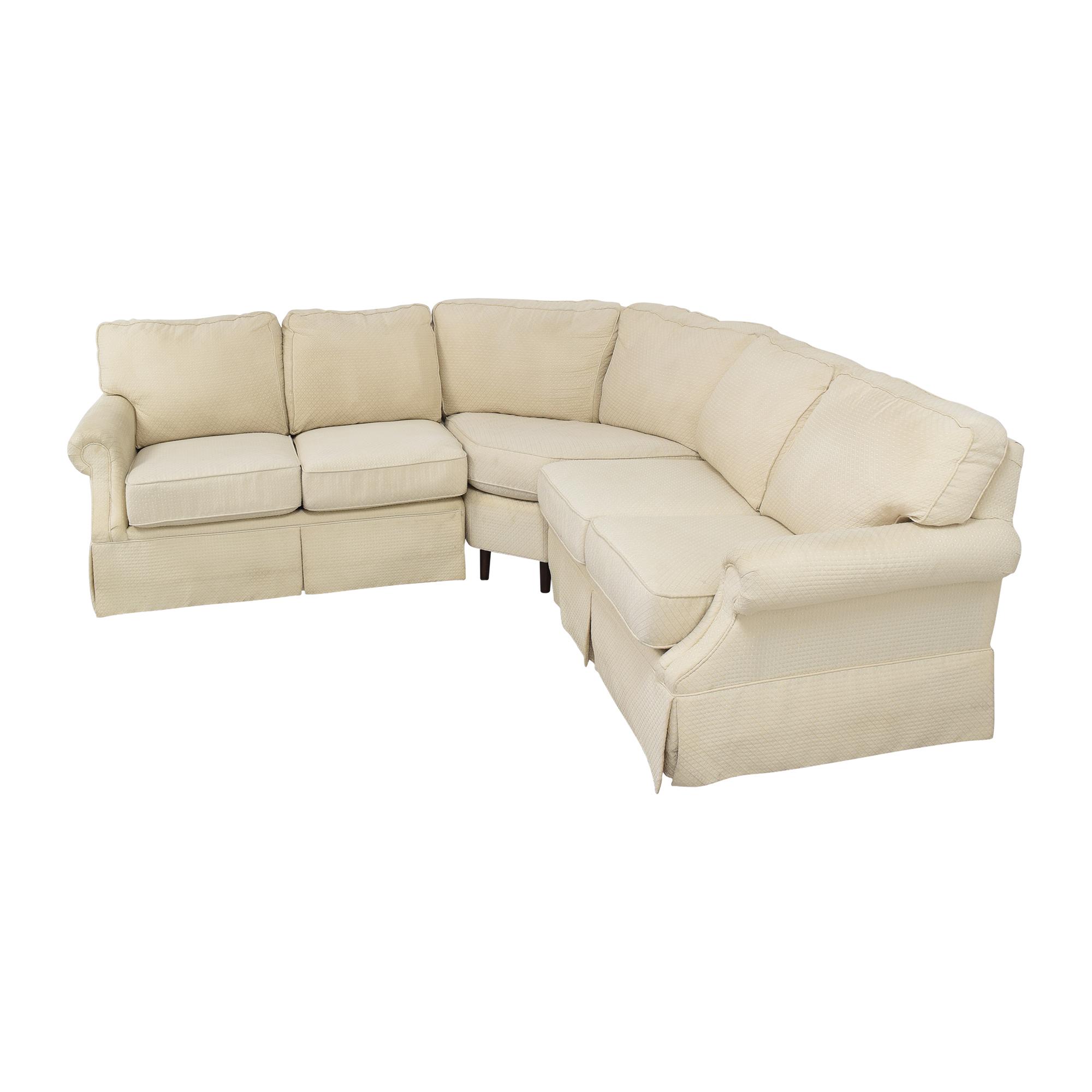 Flexsteel Flexsteel L Shaped Sectional Sofa