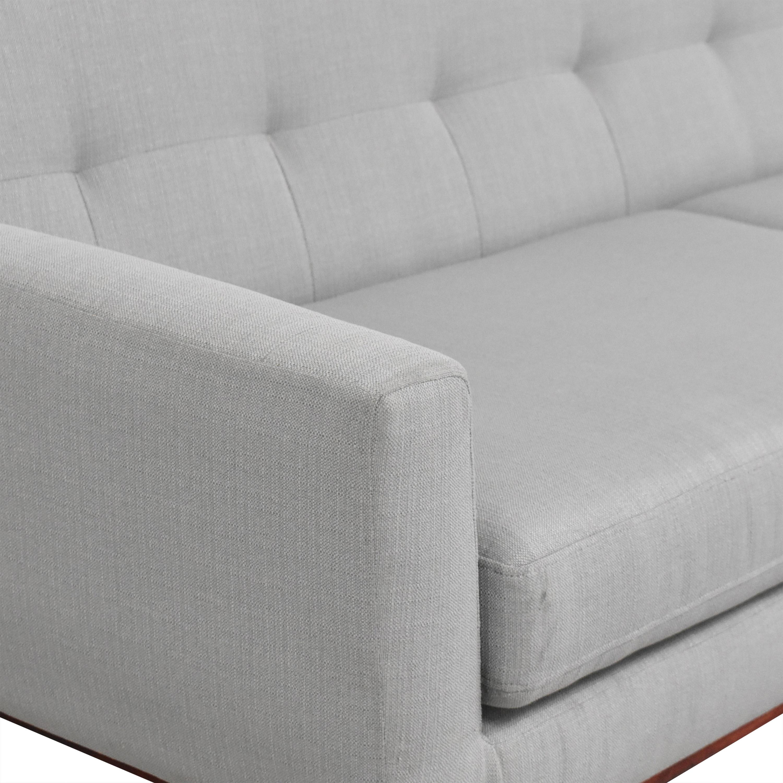 Bagley Road Charlie Two Cushion Sofa nyc