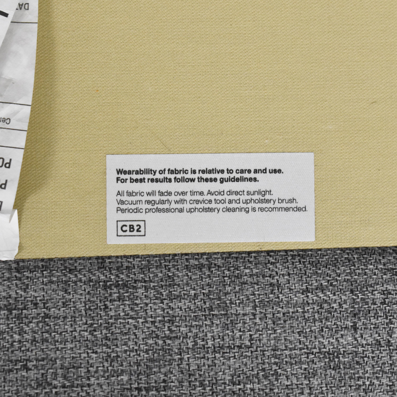 CB2 CB2 Club Two Cushion Sofa used