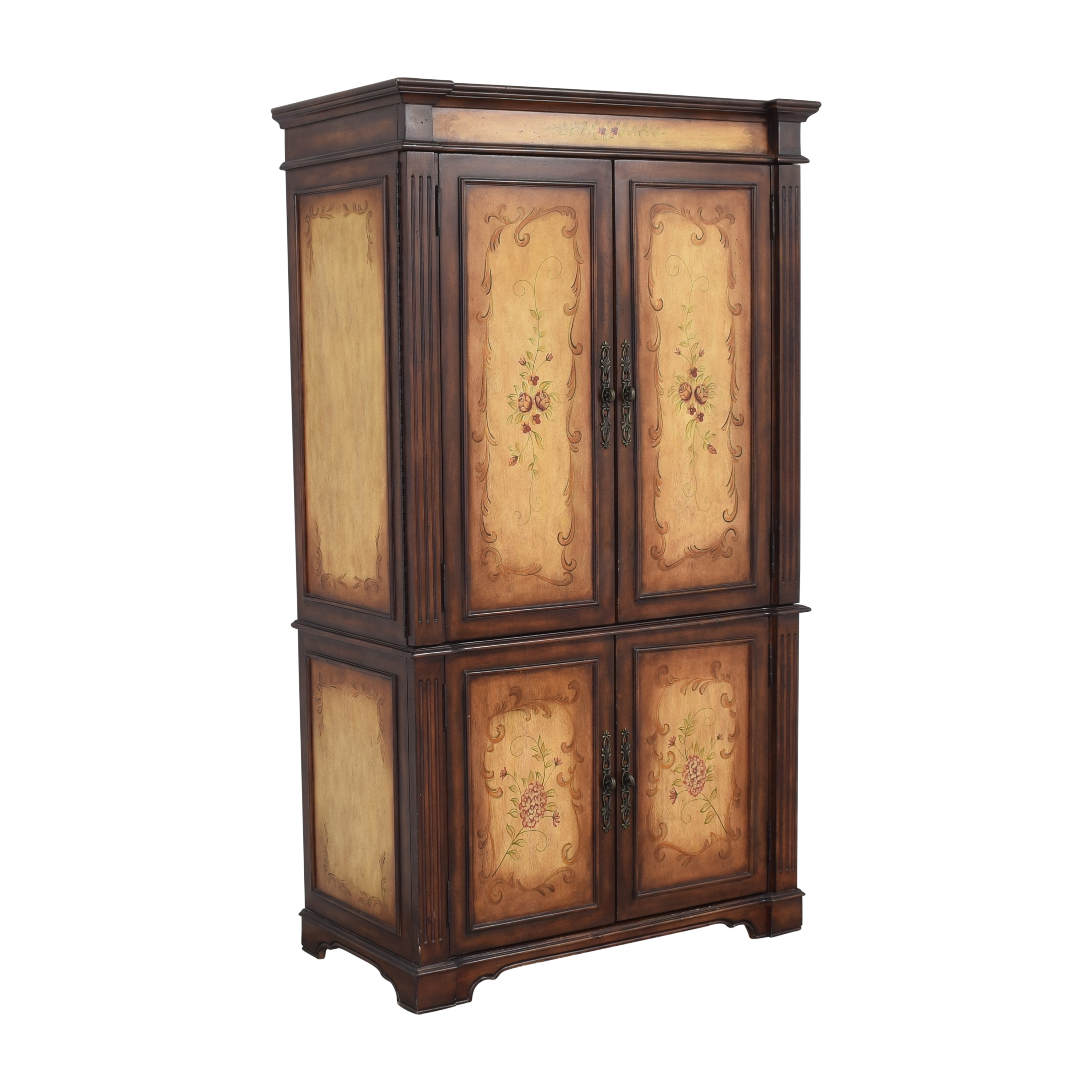 buy Raymour & Flanigan Painted Media Armoire Raymour & Flanigan Wardrobes & Armoires