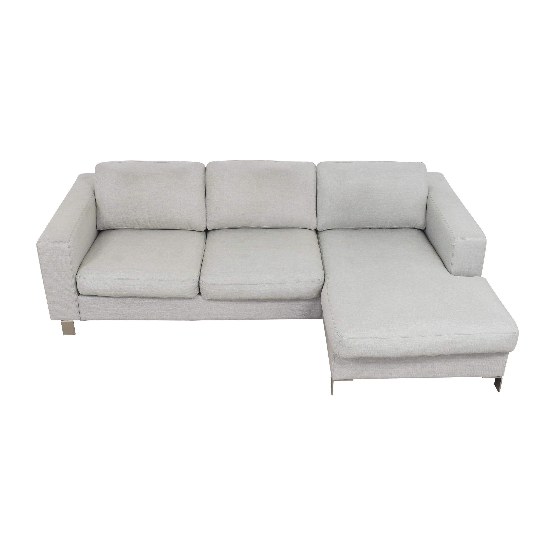 buy BoConcept Chaise Sectional Sofa BoConcept Sofas