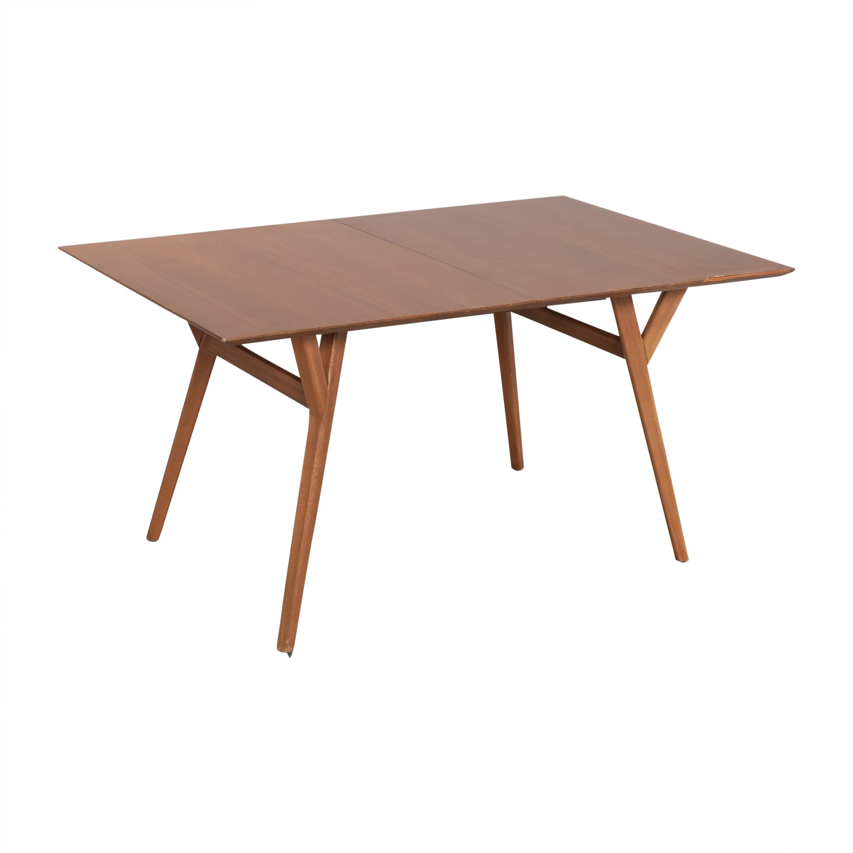 West Elm West Elm Mid-Century Dining Table brown