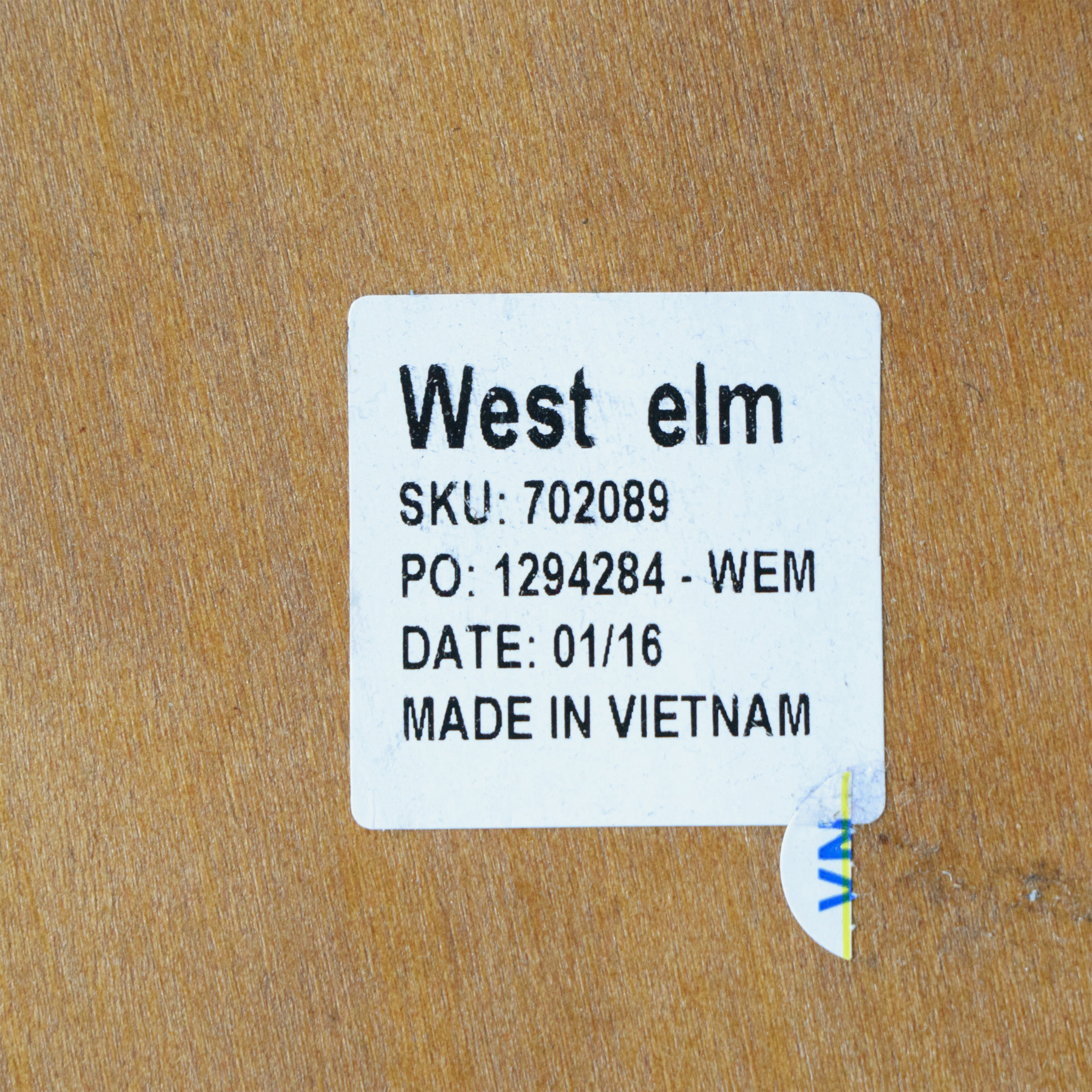 West Elm West Elm Mid-Century Dining Table nyc